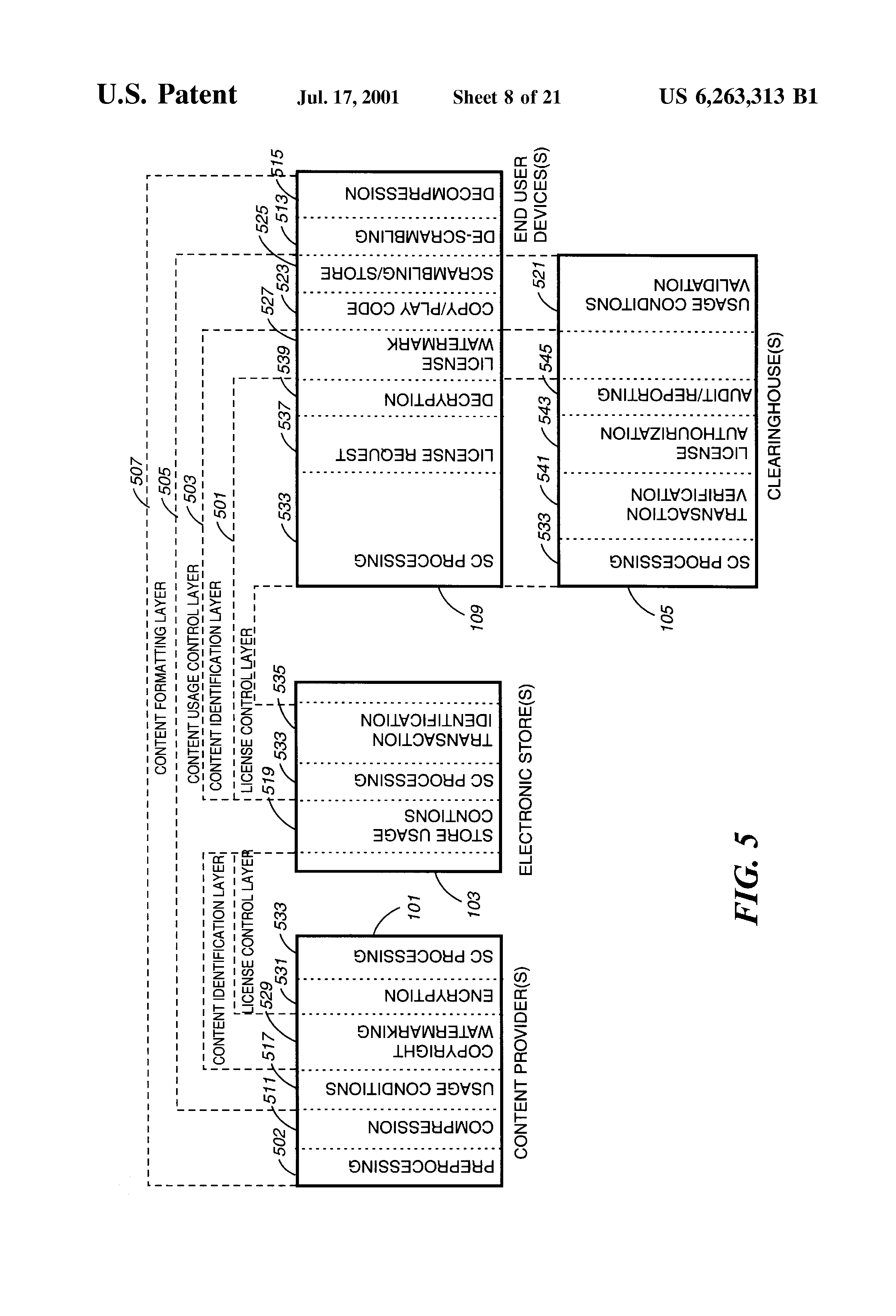 US6263313B1 - Method and apparatus to create encoded digital content