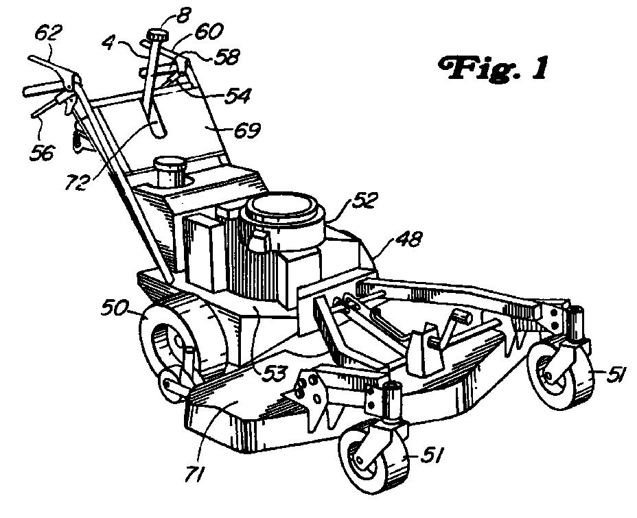 EP0875441A2 - Fahrzeug in selbstangetriebener Bauweise - Google Patents