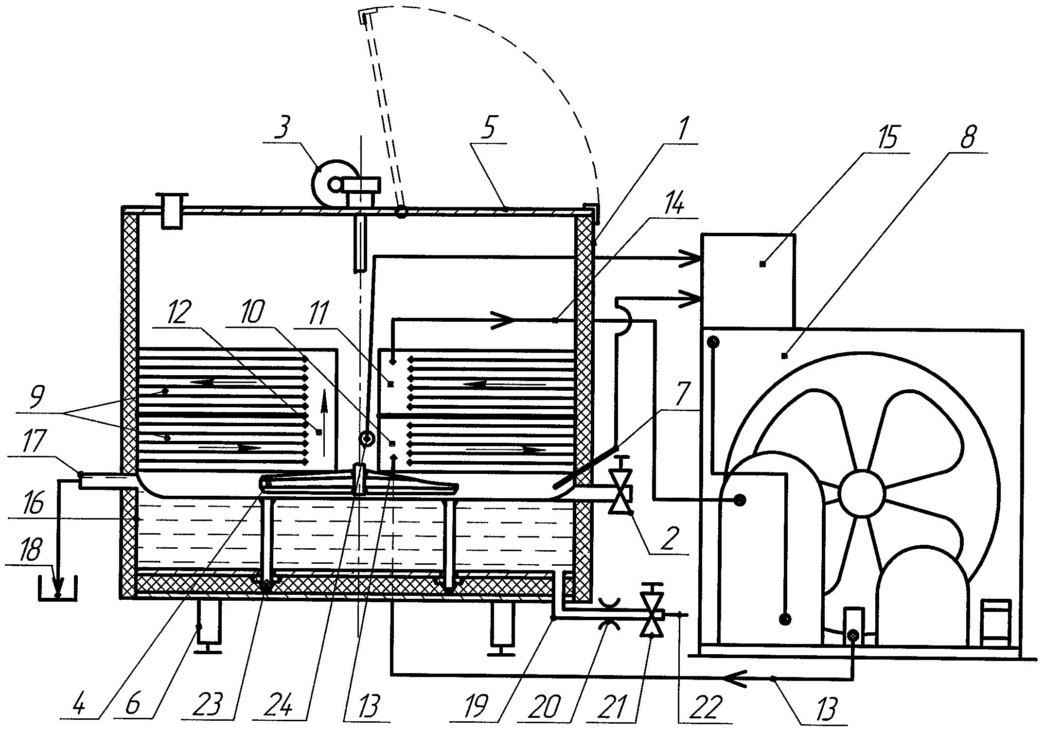 Кран сливной сборочный чертеж