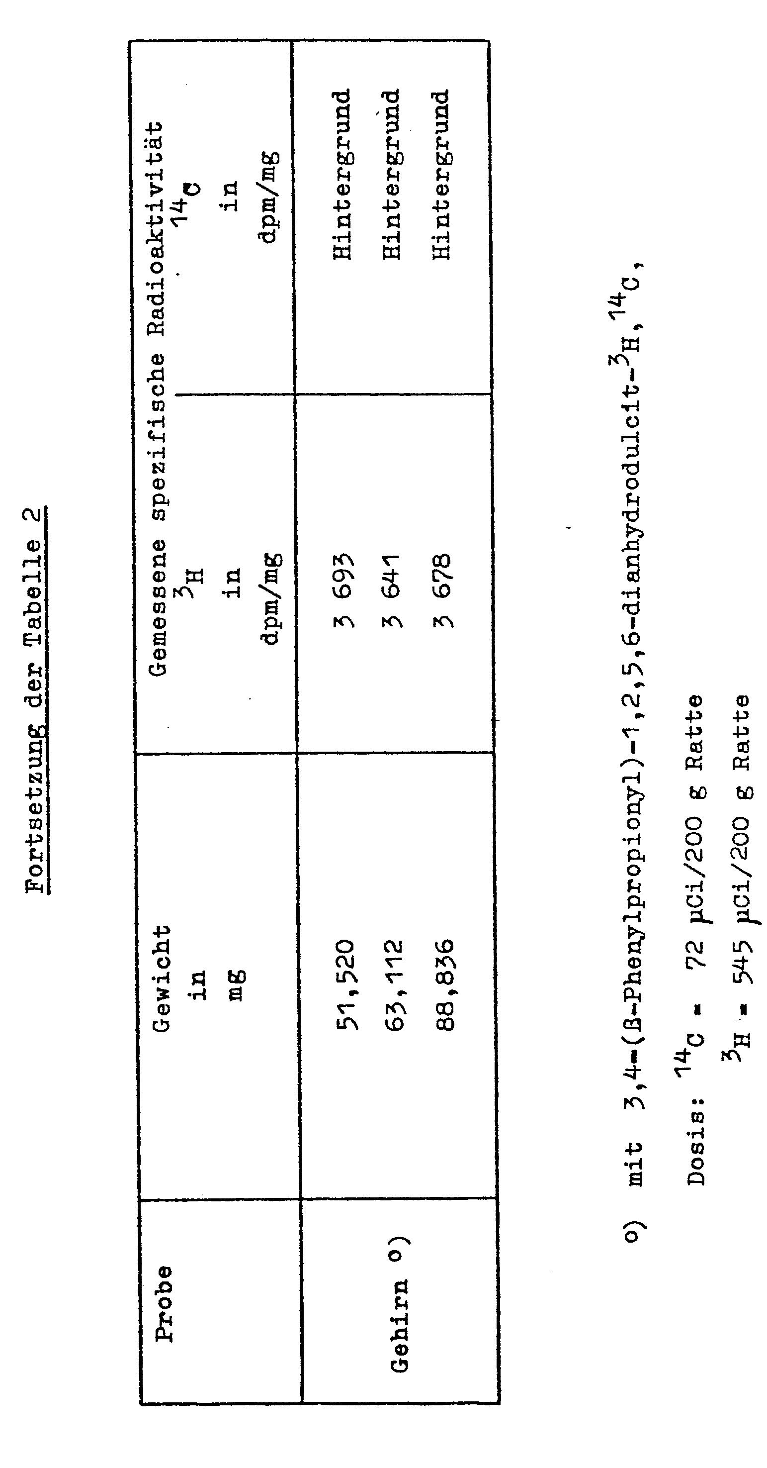 Probe zur radioaktiven Dating-Berechnung