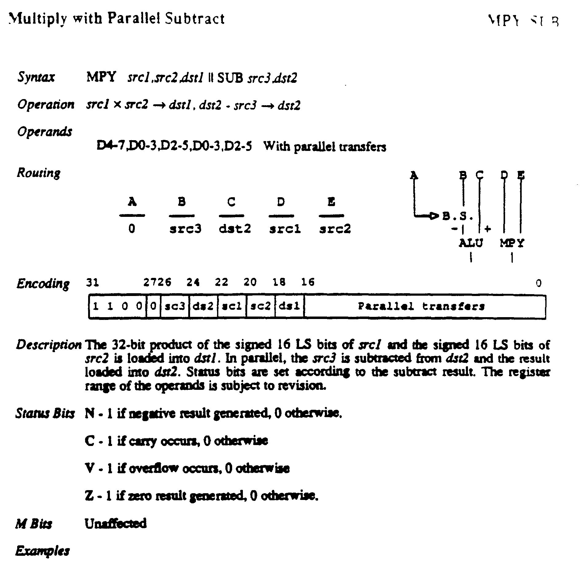 Ep0429733a2 Multiprocessor With Crossbar Between Processors And Figure 5 The Block Diagram Of Bis Algorithm Abbreviations Bsr Imgb0033