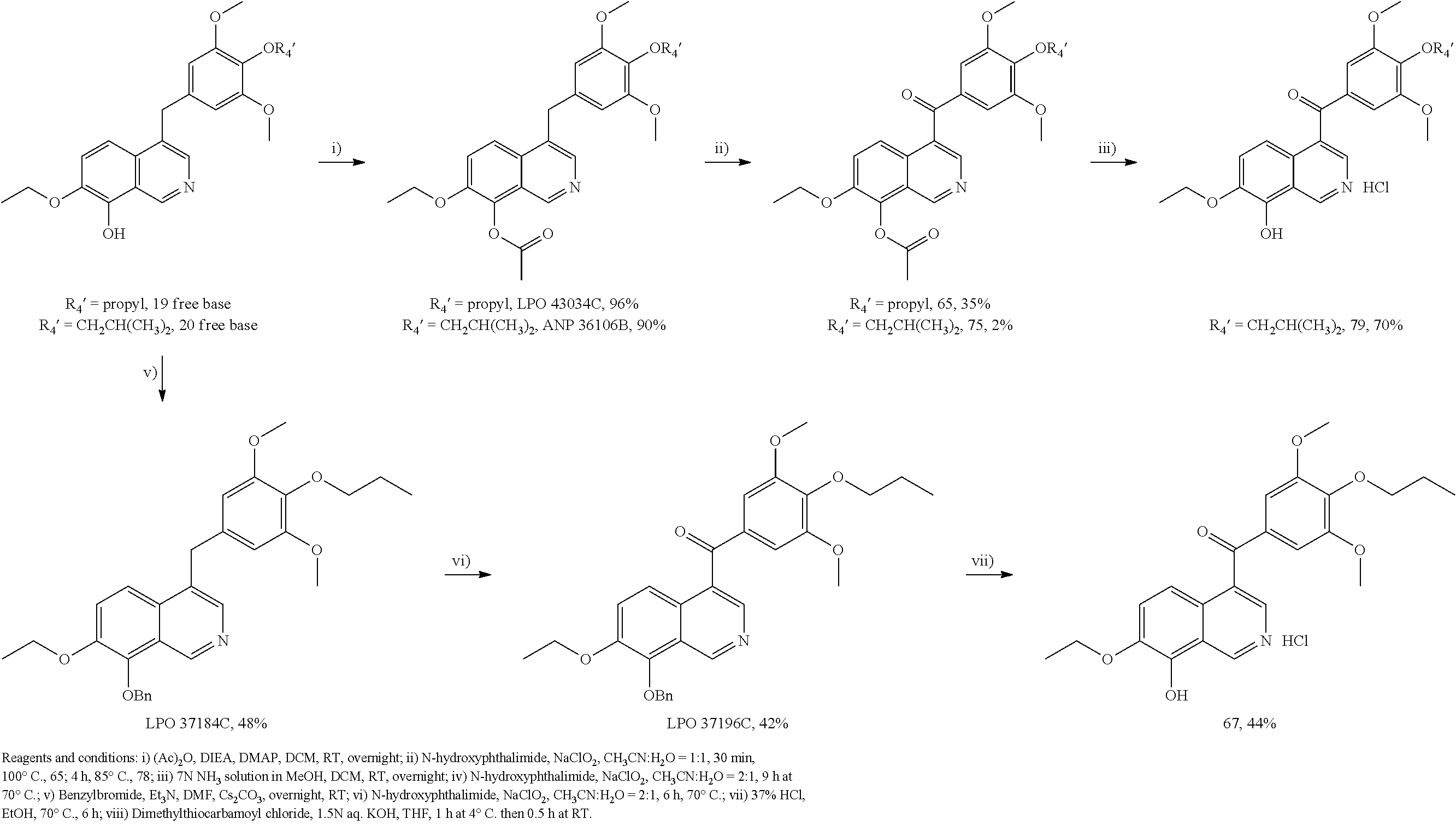 US20130131018A1 - Substituted isoquinolines and their use as tubulin ... f64c8265b25e