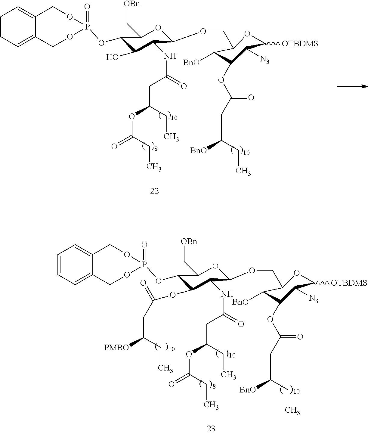 Us9480740b2 Synthetic Glucopyranosyl Lipid Adjuvants Google Patents Wiring Diagram Hornet 740t Figure Us09480740 20161101 C00036