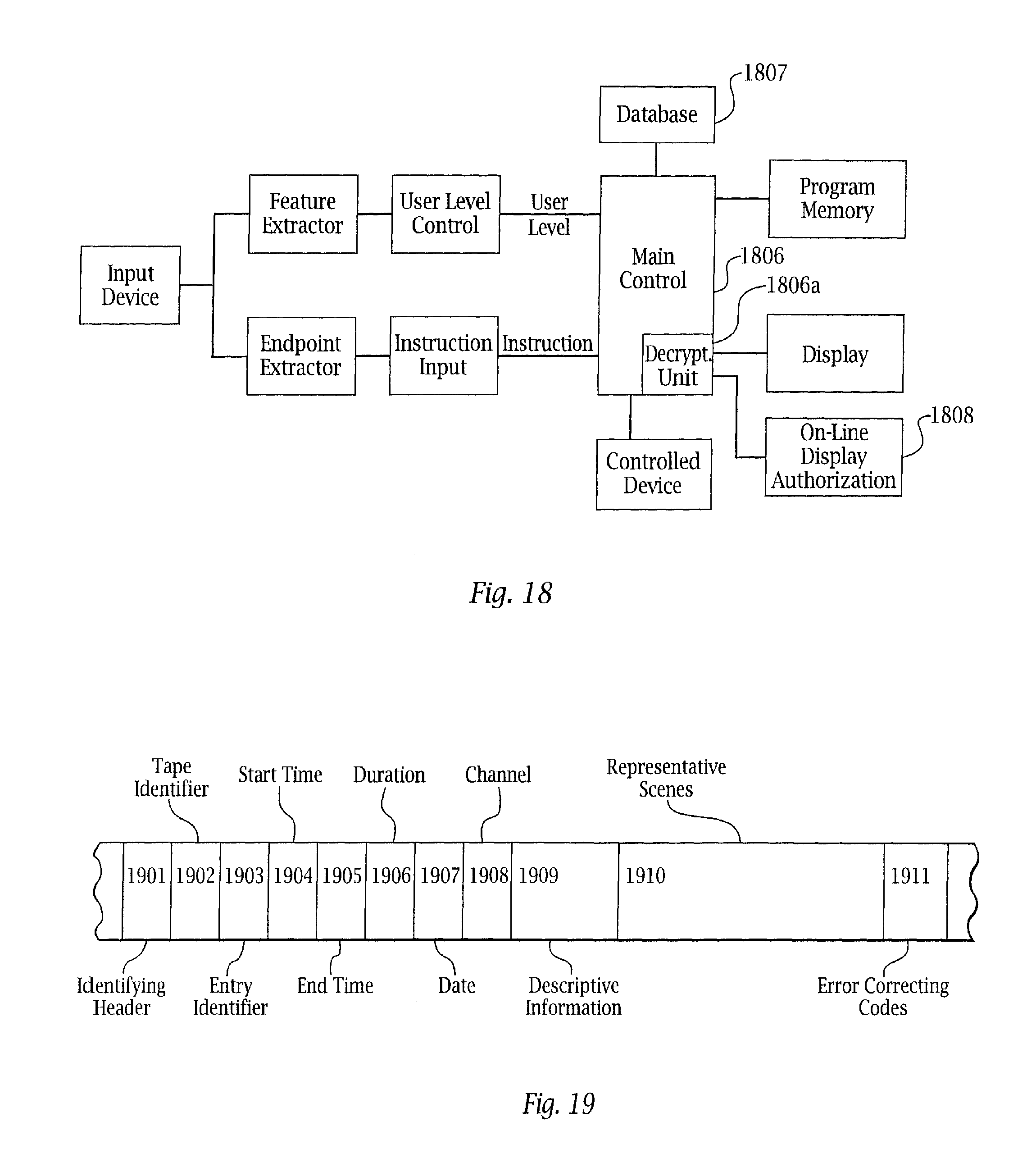 US20120017232A1 - Adaptive pattern recognition based