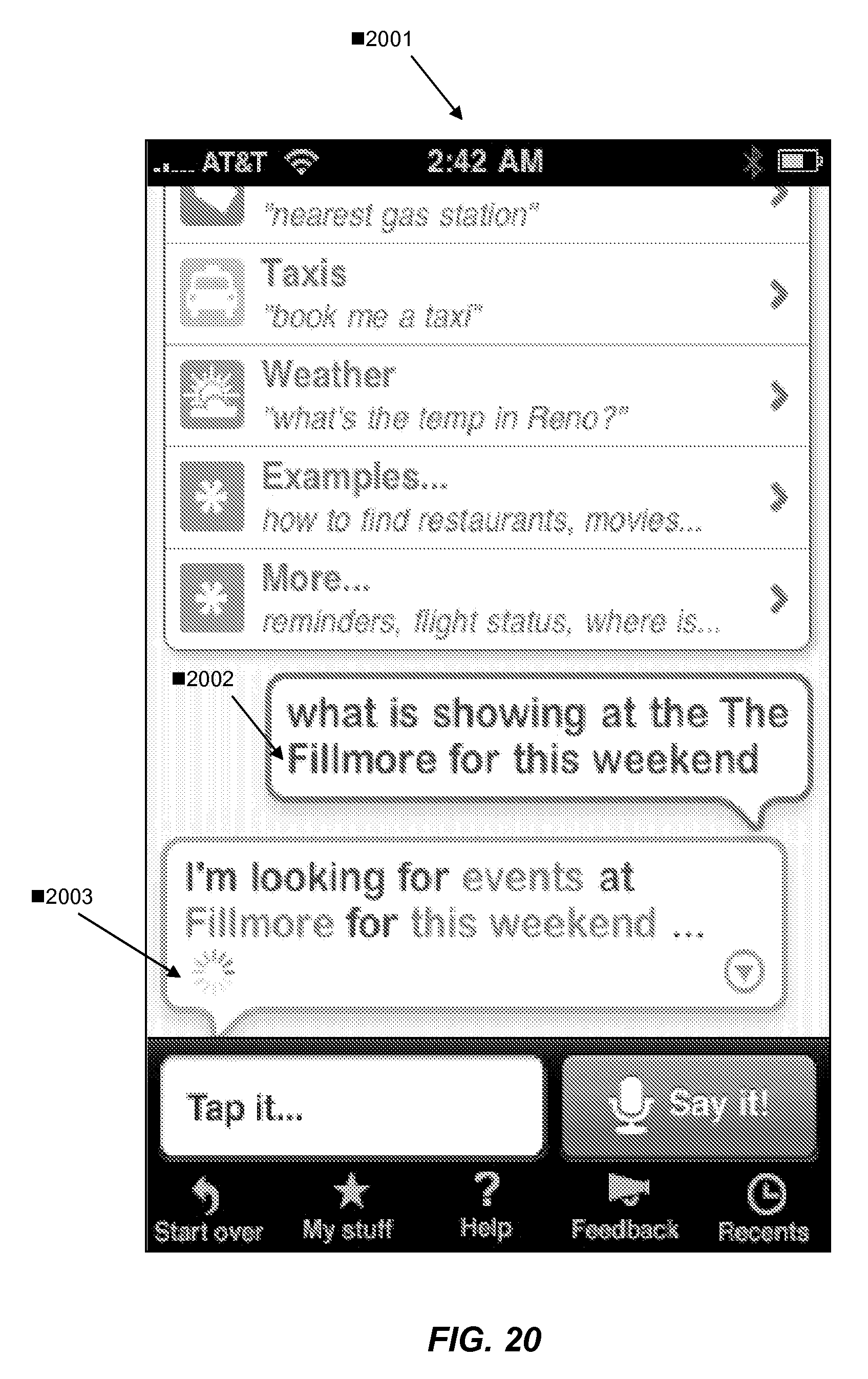 US8892446B2 - Service orchestration for intelligent