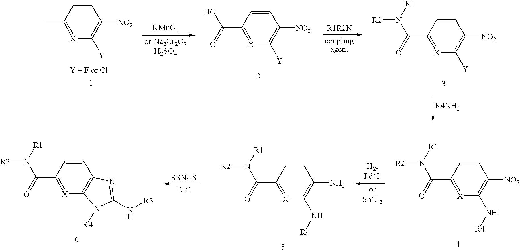 US20090270372A1 - Novel derivatives of benzimidazole and imidazo