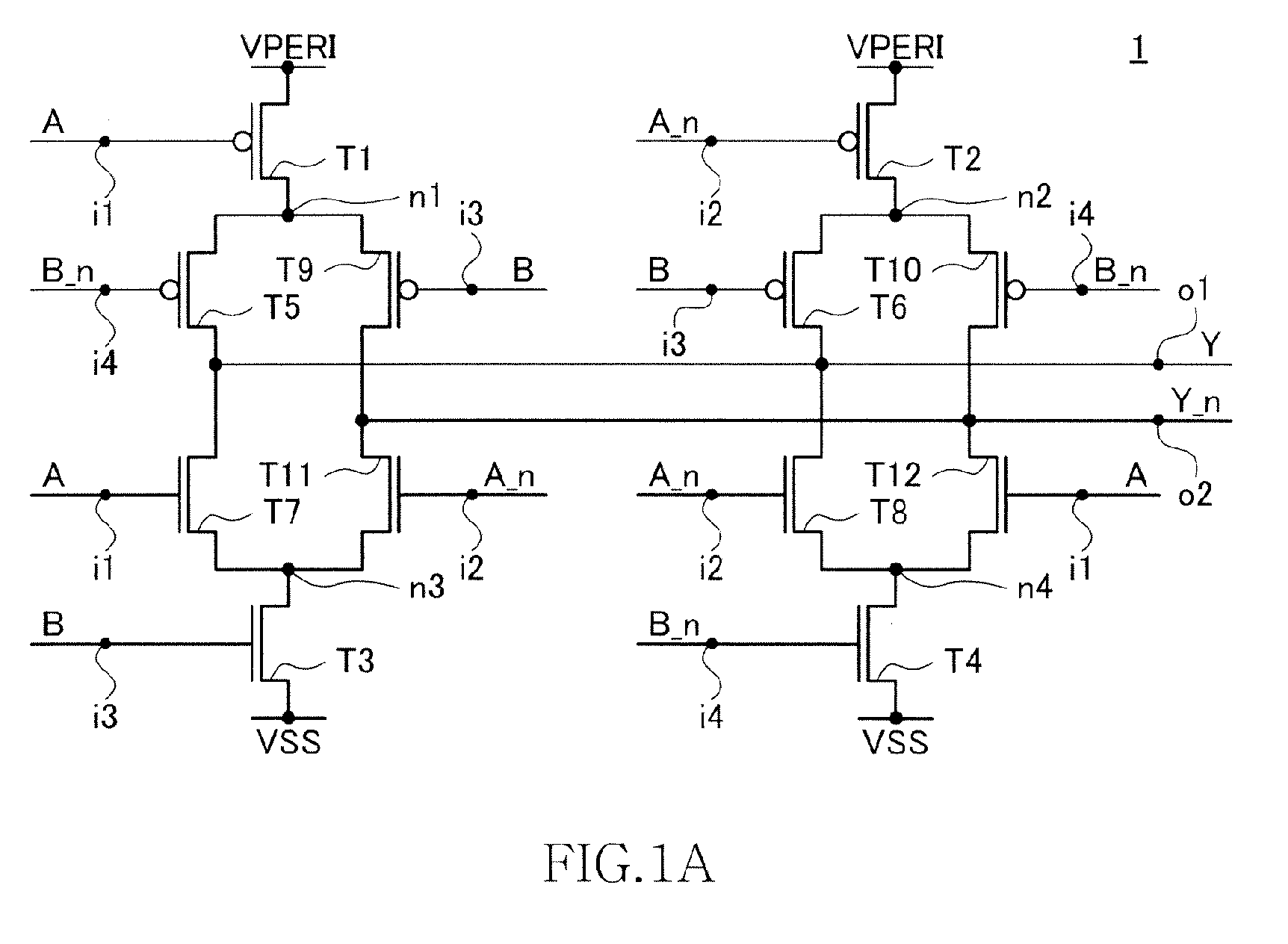 Ep2575257a1 Logic Circuit And Data Processing System Including The Diagram Of Xnor Gate Figure Imgaf001