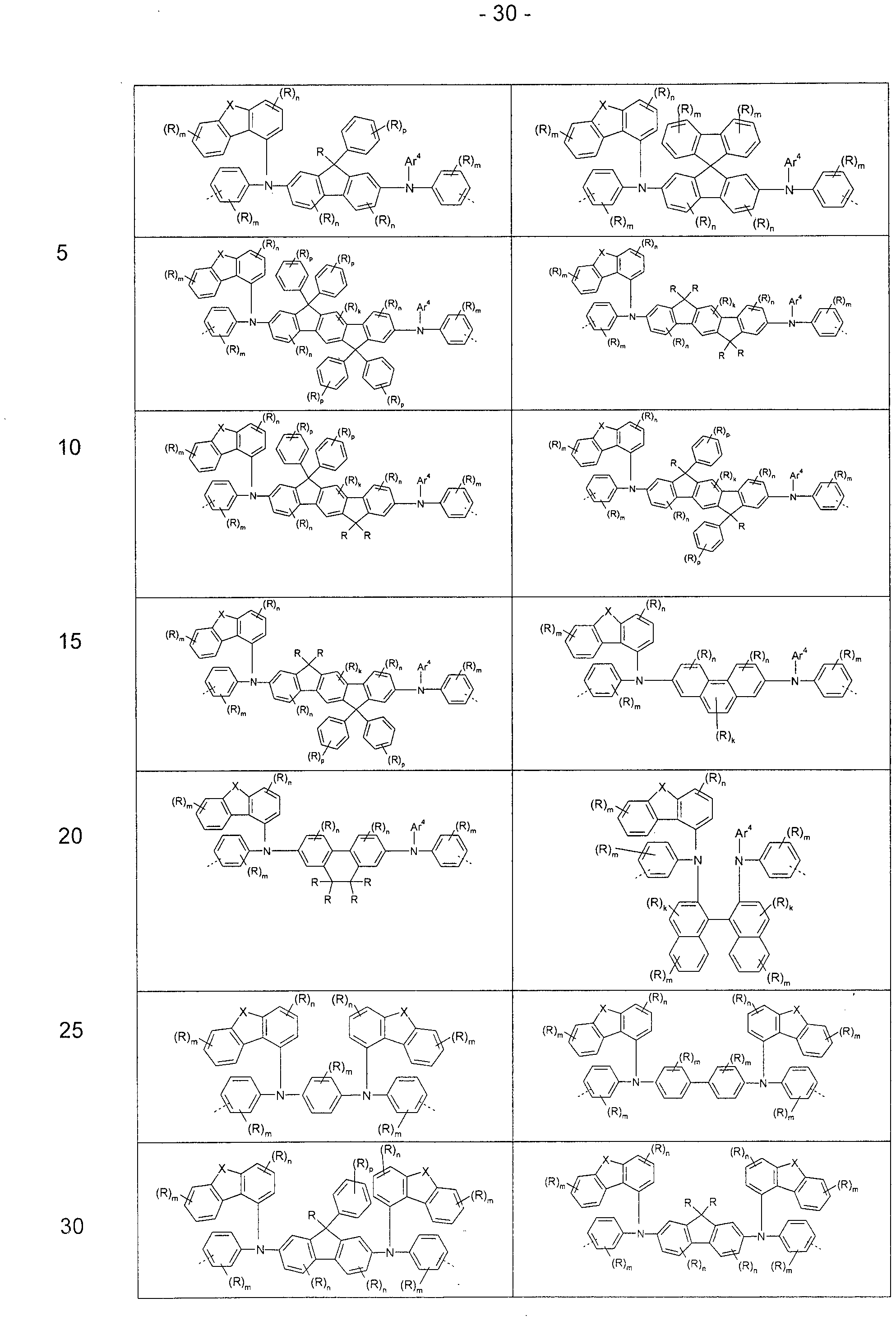 wo2013156129a1 polymers containing substituted oligo triarylamine