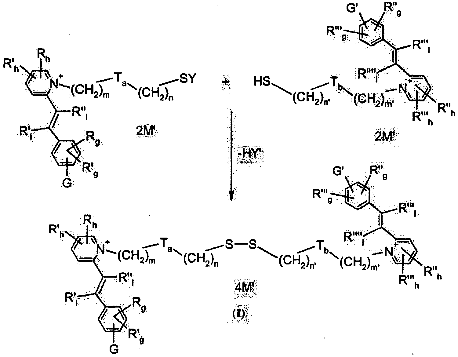 ep2001960b1 dyeing position containing a thiol disulphide  r h r l r l r l r l g g m m n n