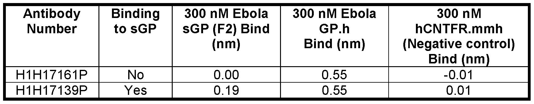 WO2016123019A1 - Human antibodies to ebola virus