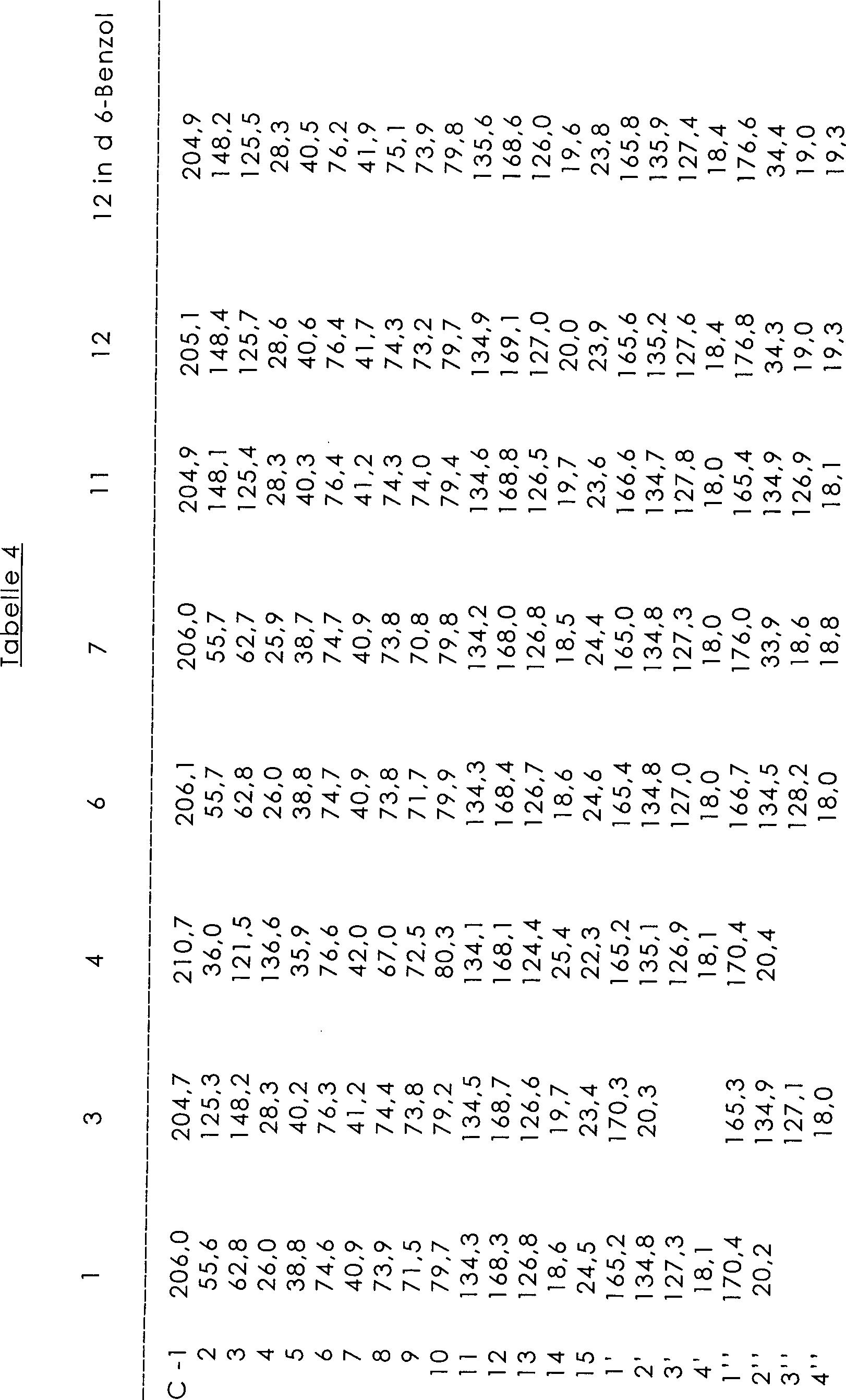 beispiel 3 untersuchung der beziehung zwischen struktur und aktivitt des calea extraktes - Derivate Beispiel