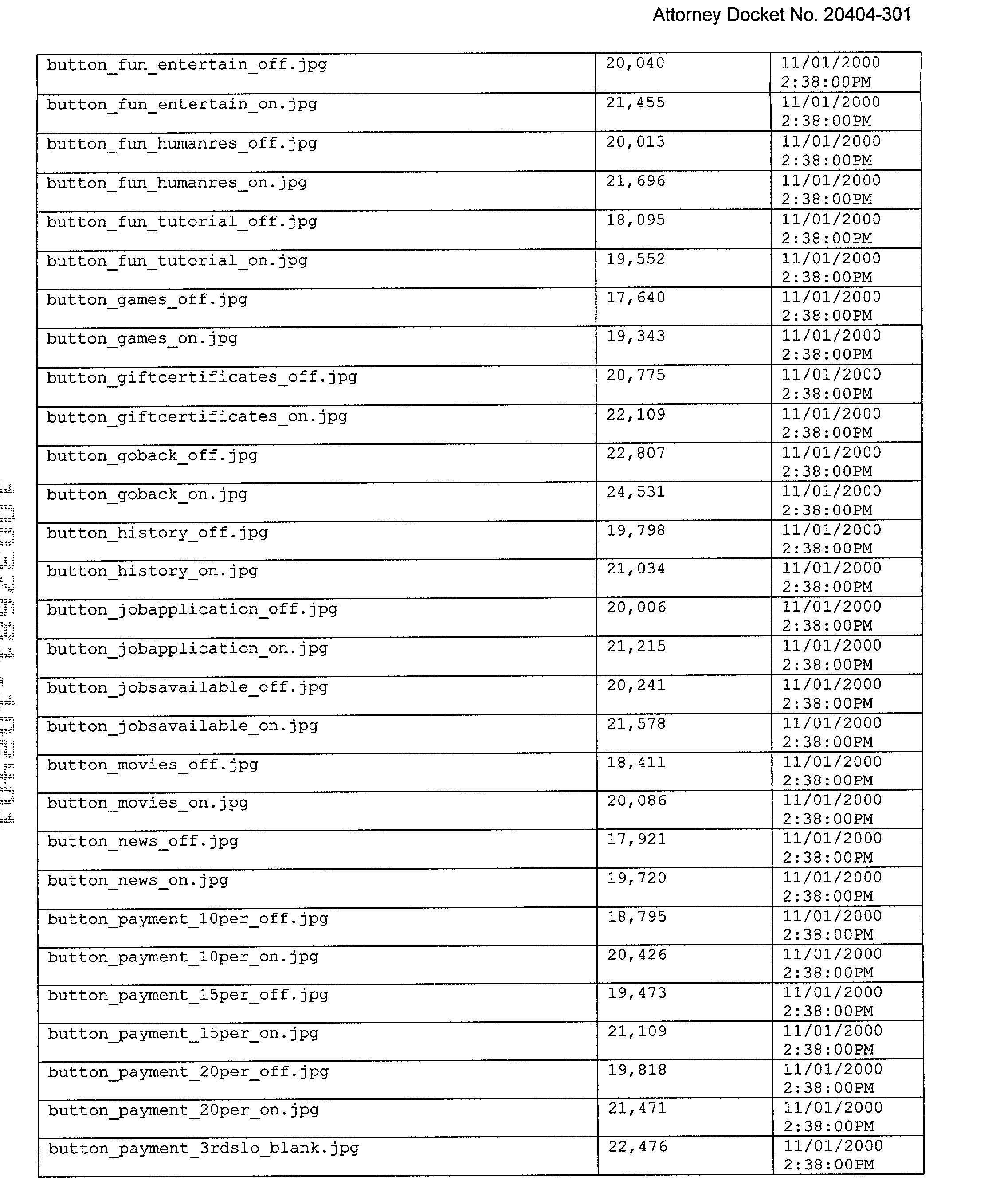 Figure US20030078793A1-20030424-P00011