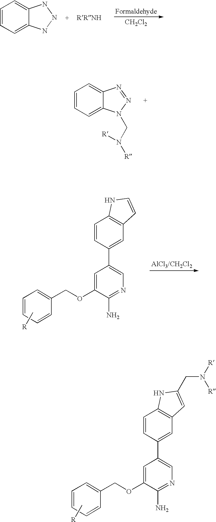Us7230098b2 Aminoheteroaryl Compounds As Protein Kinase Inhibitors Wiring Diagram Bolens G194 Figure Us07230098 20070612 C00020