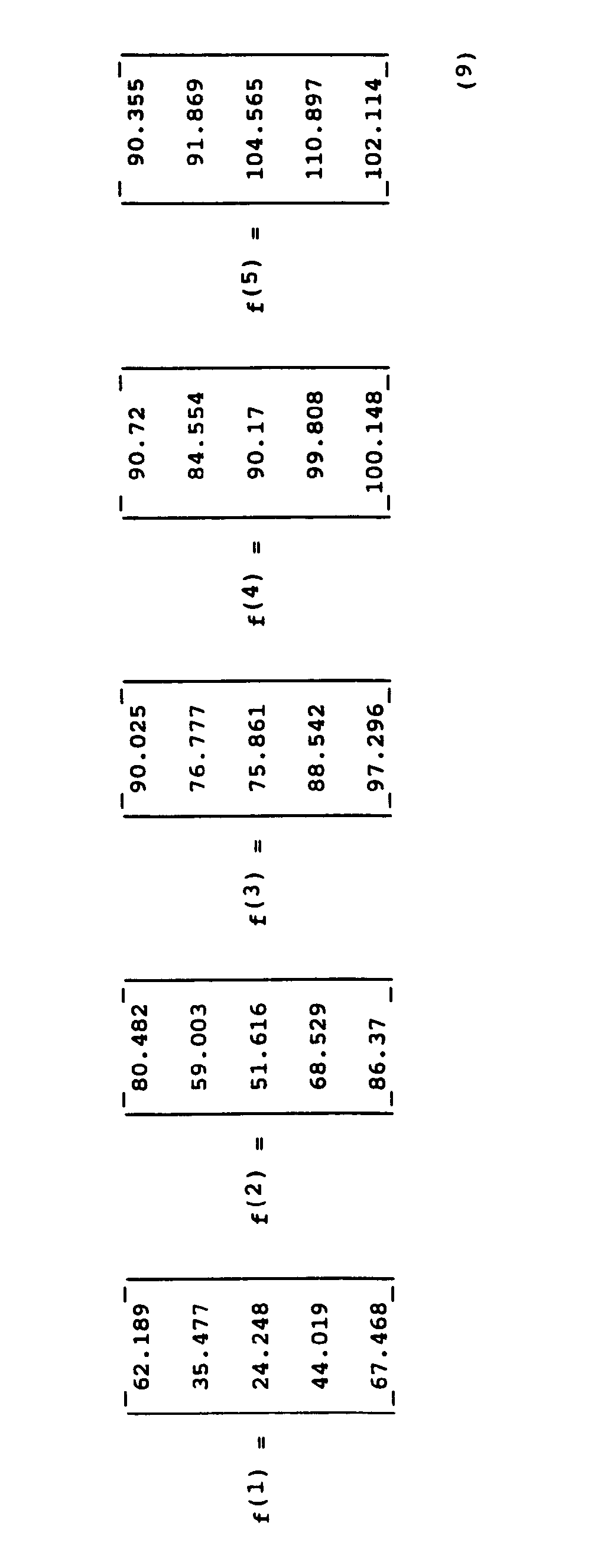 Ep0545641a2 Determining Pneumatic Tire Pressure And Or Vehicle Temperature Load Force 038 Other Sensors Figure Imgb0011