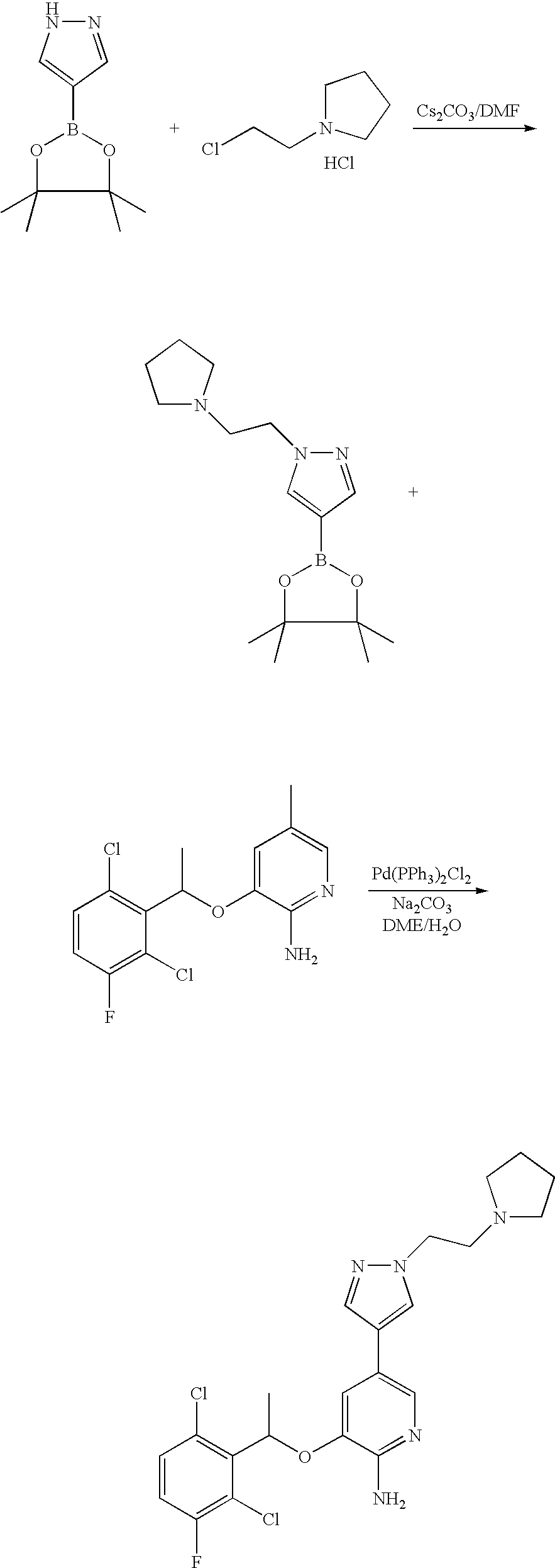 Us7230098b2 Aminoheteroaryl Compounds As Protein Kinase Inhibitors Wiring Diagram Bolens G194 Figure Us07230098 20070612 C00032