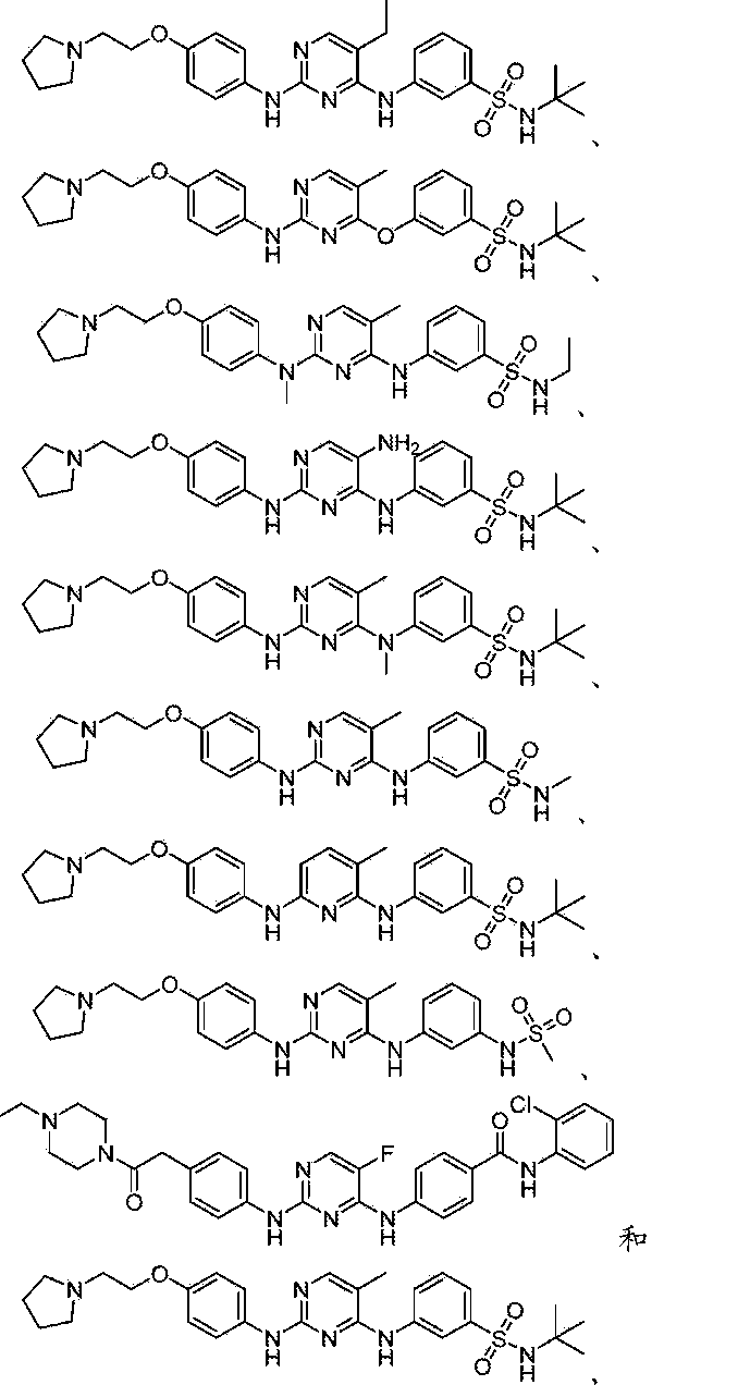CN106029653A - Diaminopyrimidine benzenesulfone derivatives