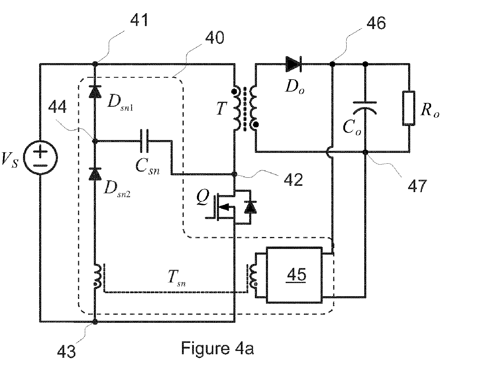 Ep2814155a1 Lc Snubber Circuit Google Patents How Can Protect Mosfet Switch In Flyback As The Secondary Winding Of Transformer Is Connected To An Output Switching Converter