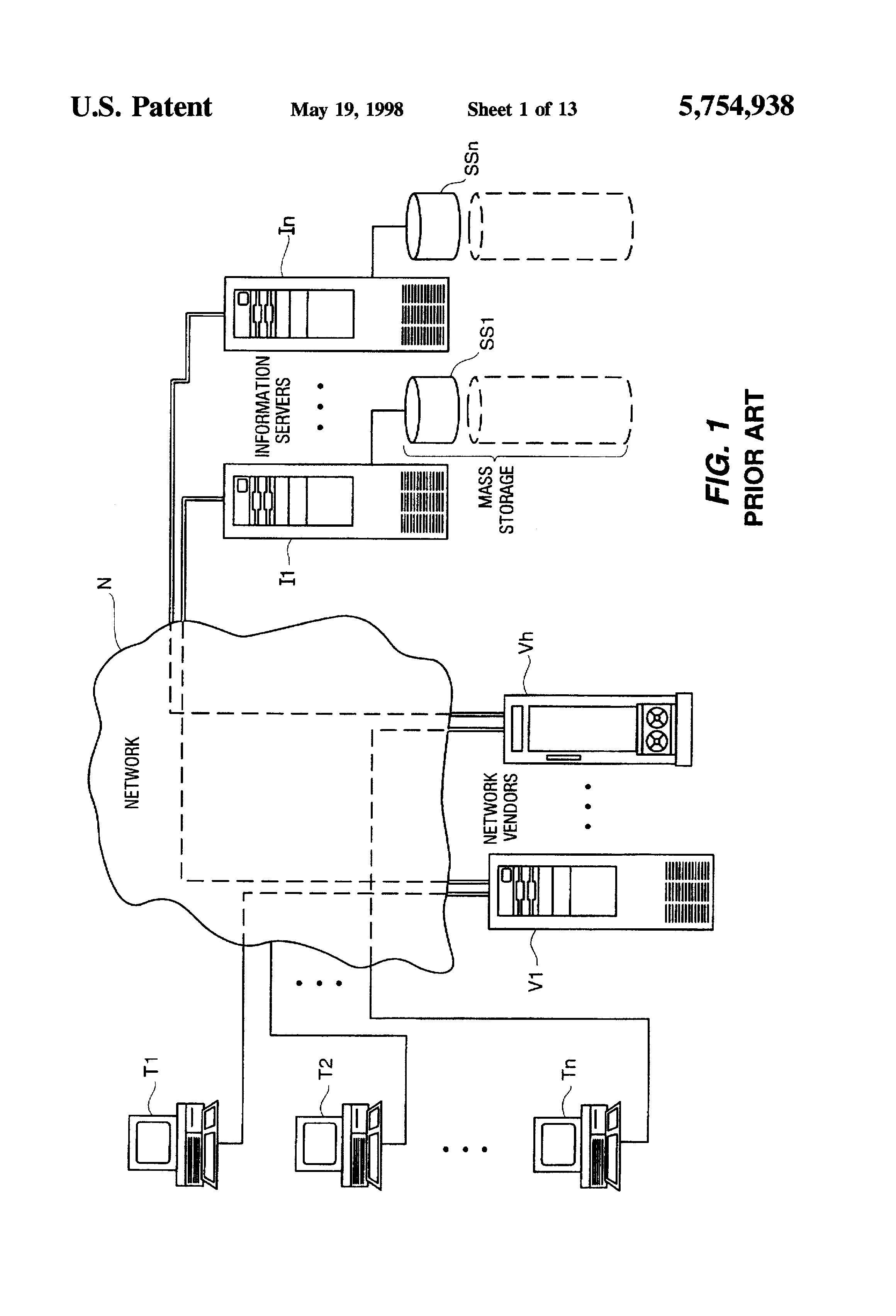 US5754938A - Pseudonymous server for system for customized
