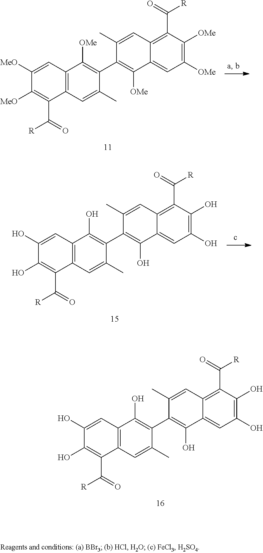 Us8937193b2 Apogossypolone Derivatives As Anticancer Agents