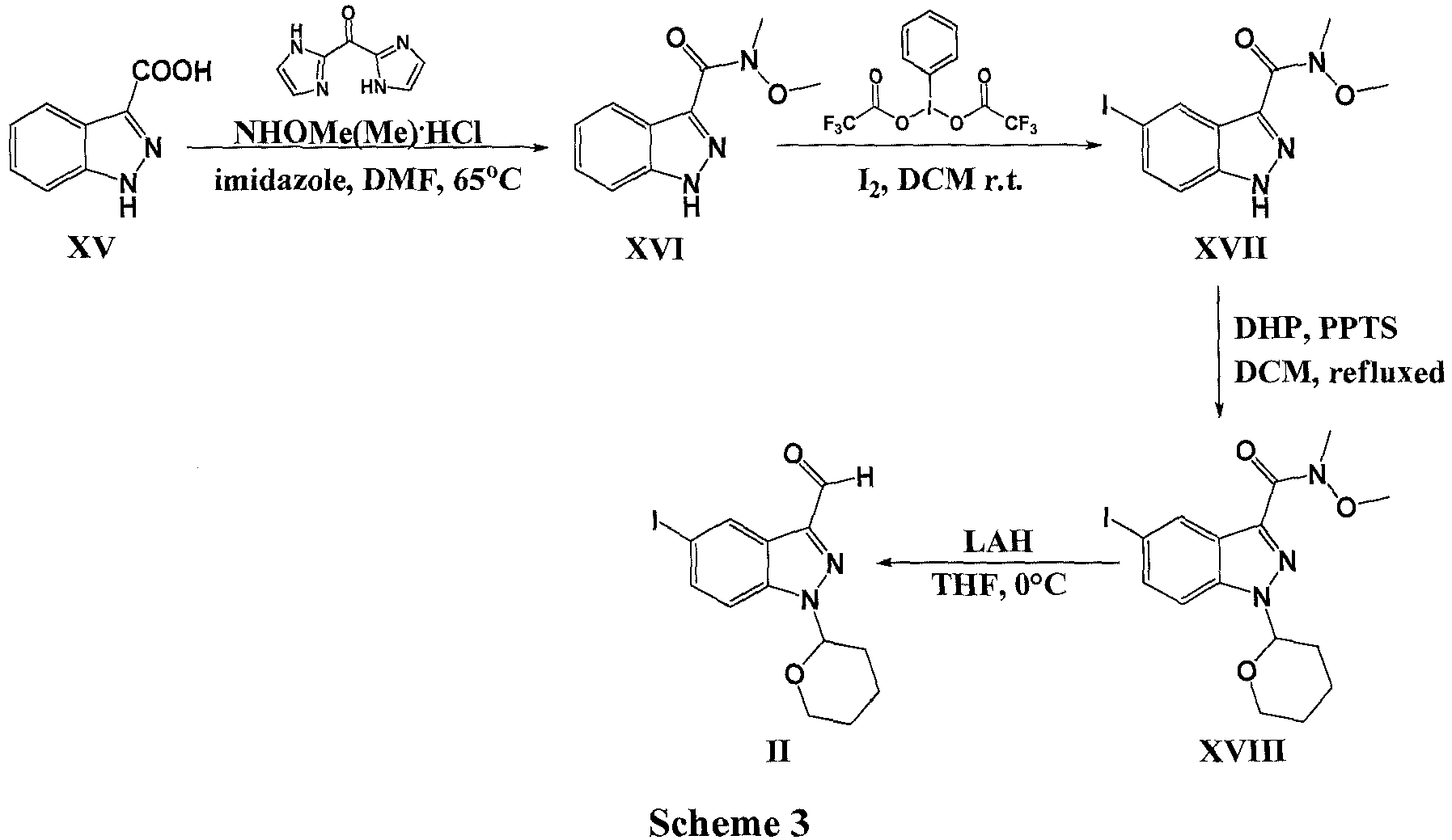 EP2760285B1 - Indazole inhibitors of the wnt signal pathway