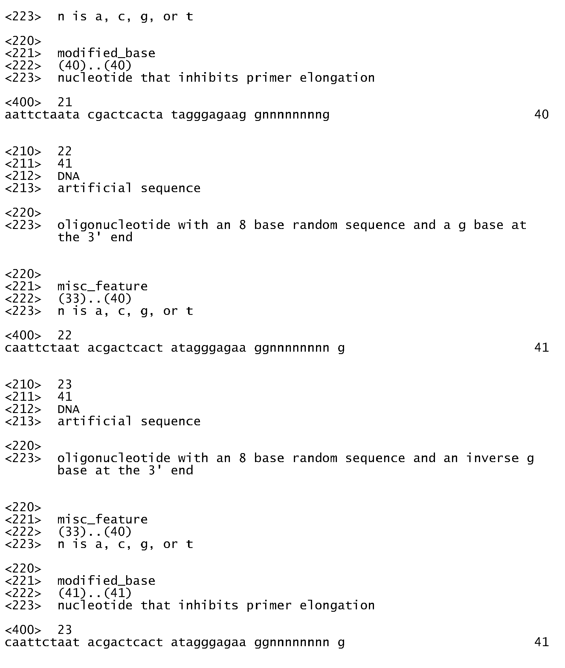 EP A1 Einführung von Sequenzelementen in Nukleinsäuren