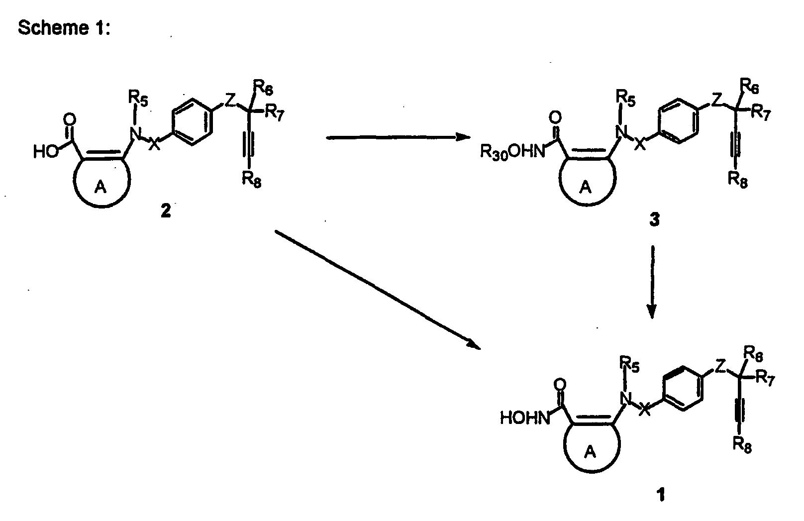 Ep1279674a2 Acetylenic Ortho Sulfonamido And Phosphinic Acid Amido Oli Rotary 2t R30 Figure Imgb0066