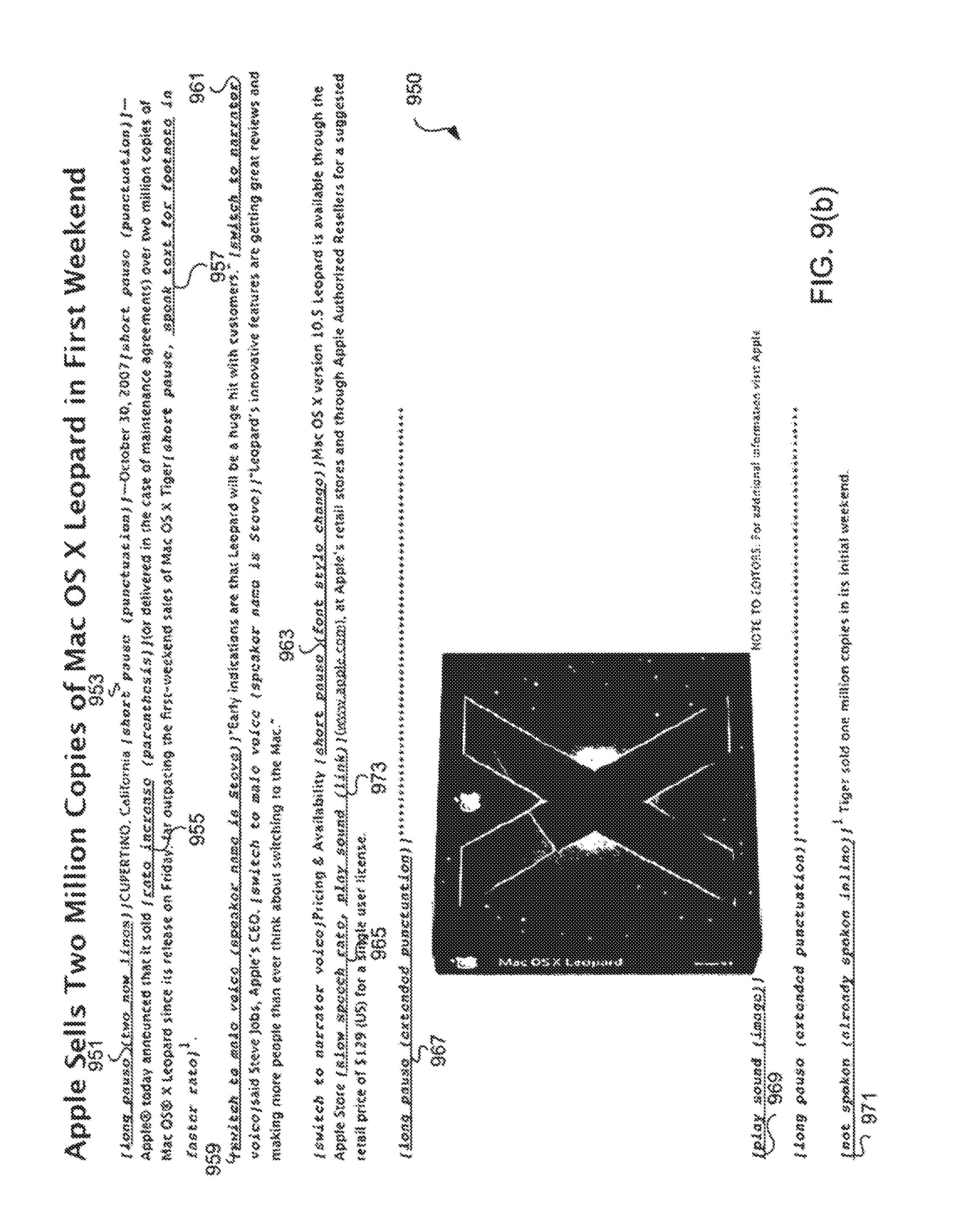US9626955B2 - Intelligent text-to-speech conversion - Google Patents