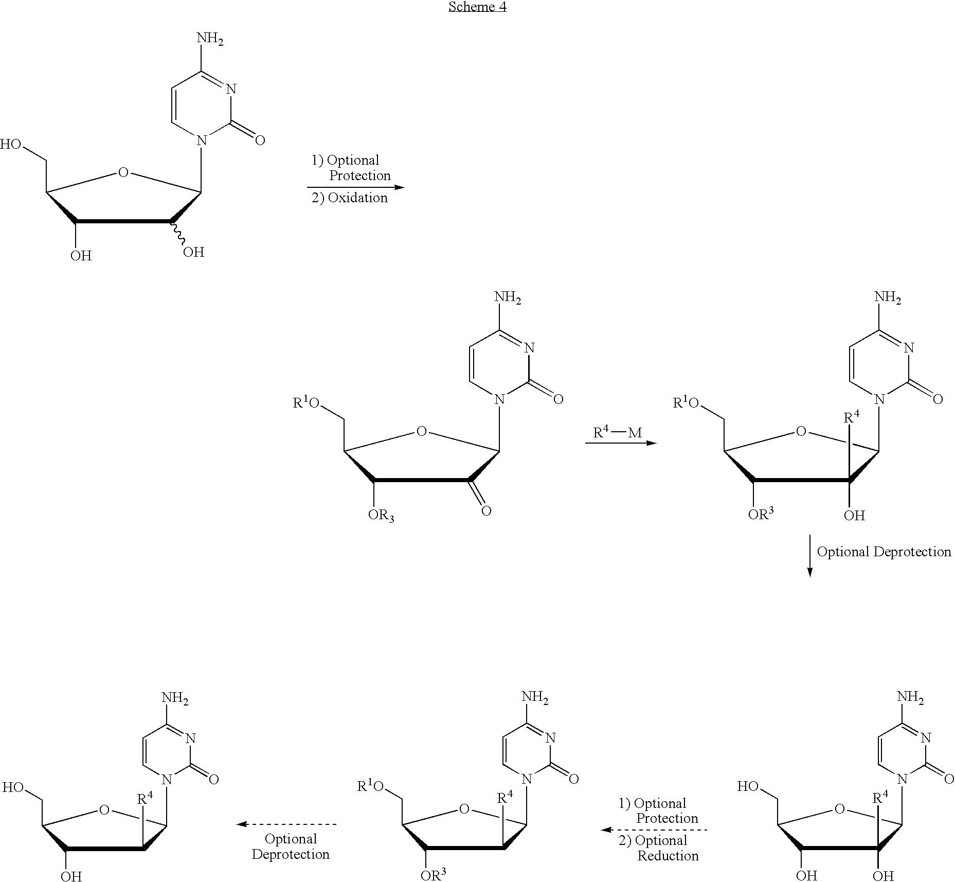 US7824851B2 - 2′-branched nucleosides and Flaviviridae