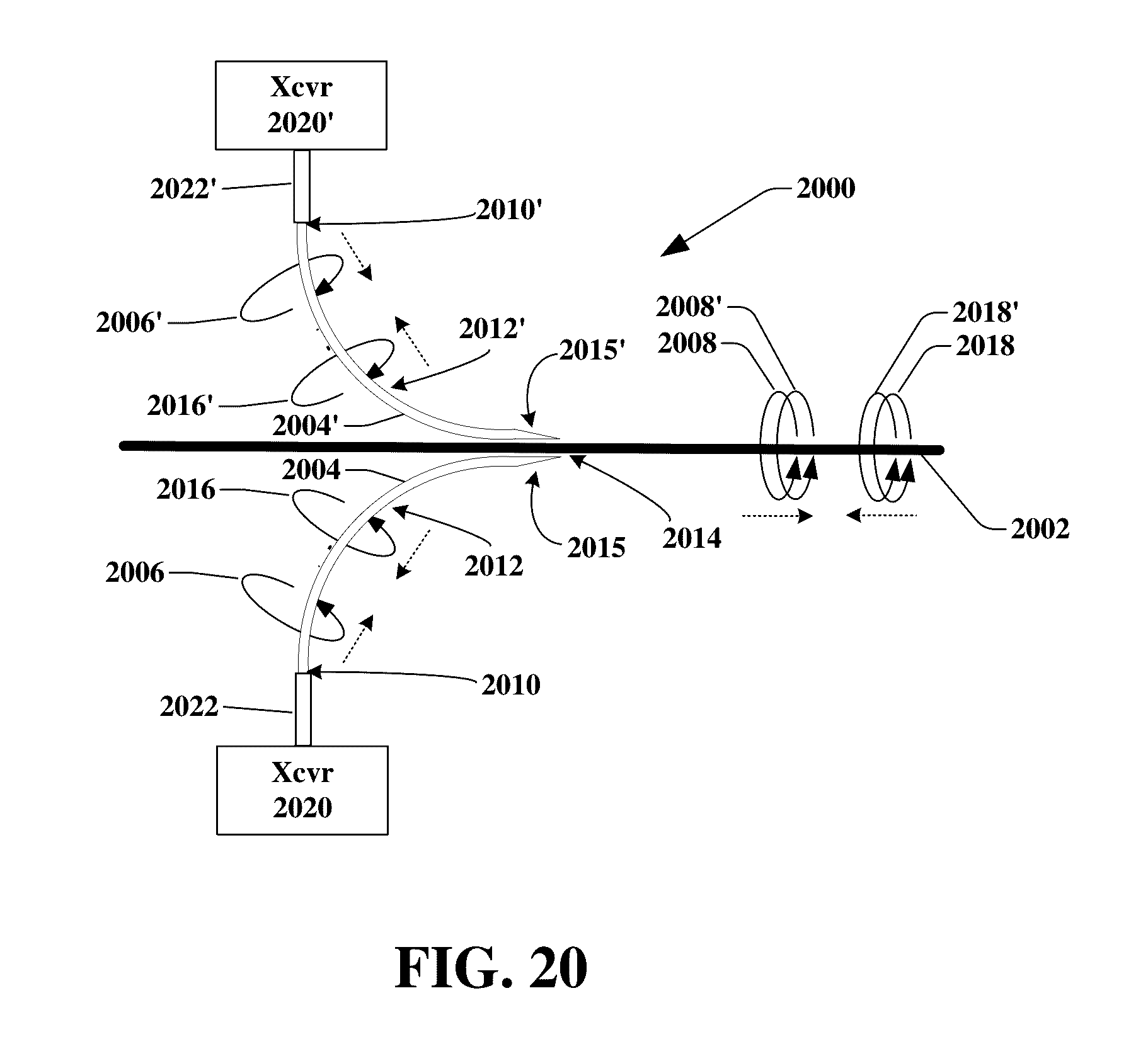 Us9531427b2 Transmission Device With Mode Division Multiplexing Generator Breaker Interlock Kits Moreover Circuit And Methods For Use Therewith Google Patents