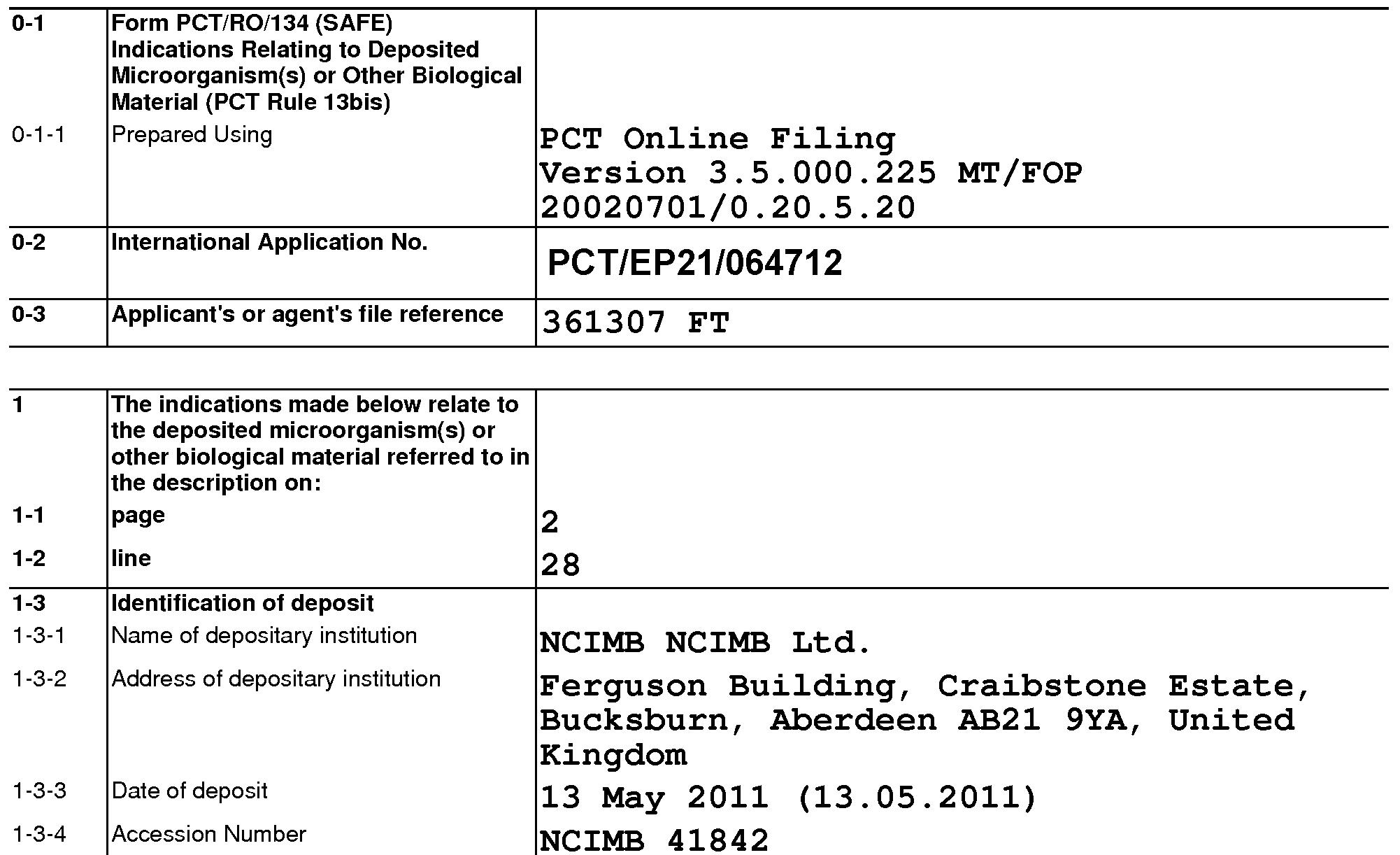WO2013014241A1 - Glyphosate tolerant corn event vco-ø1981 ...