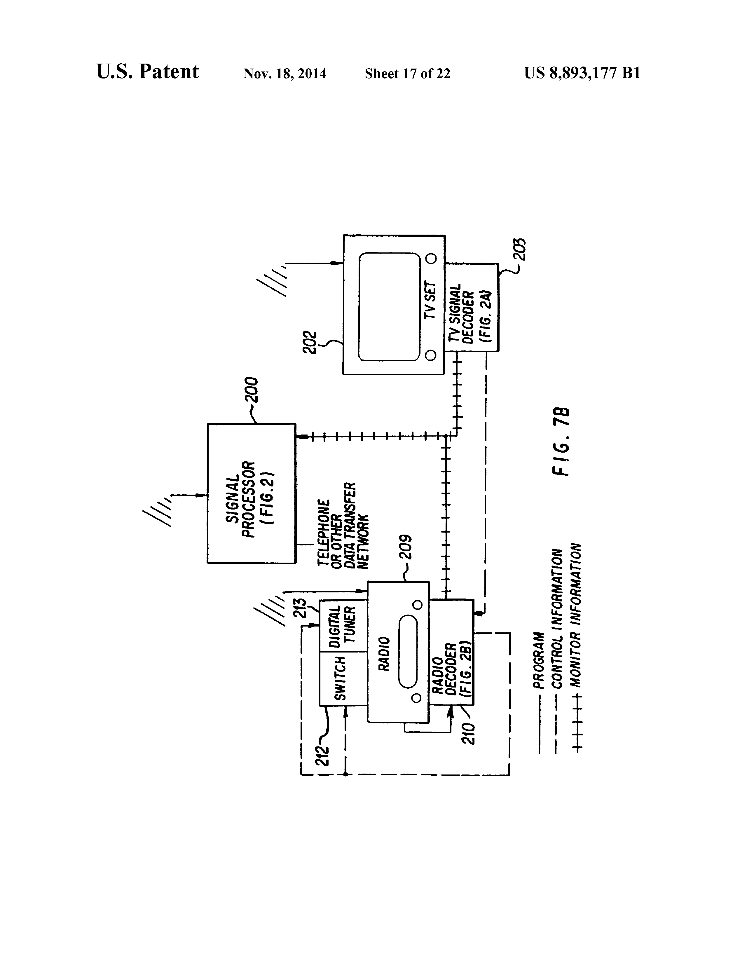 US8893177B1 - Signal processing apparatus and methods