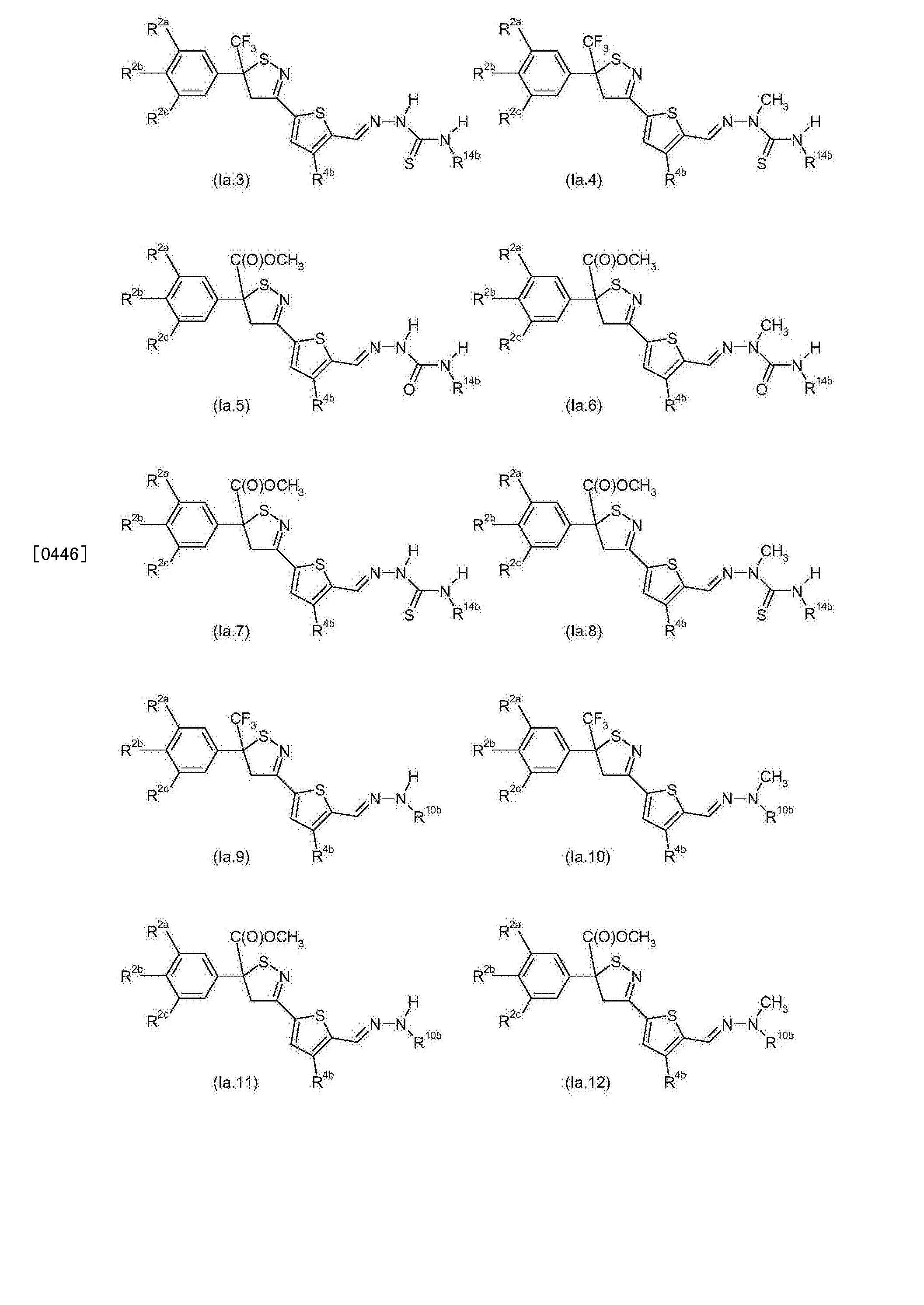 CN105473584A - Thiophene- or furan-substituted isothiazoline