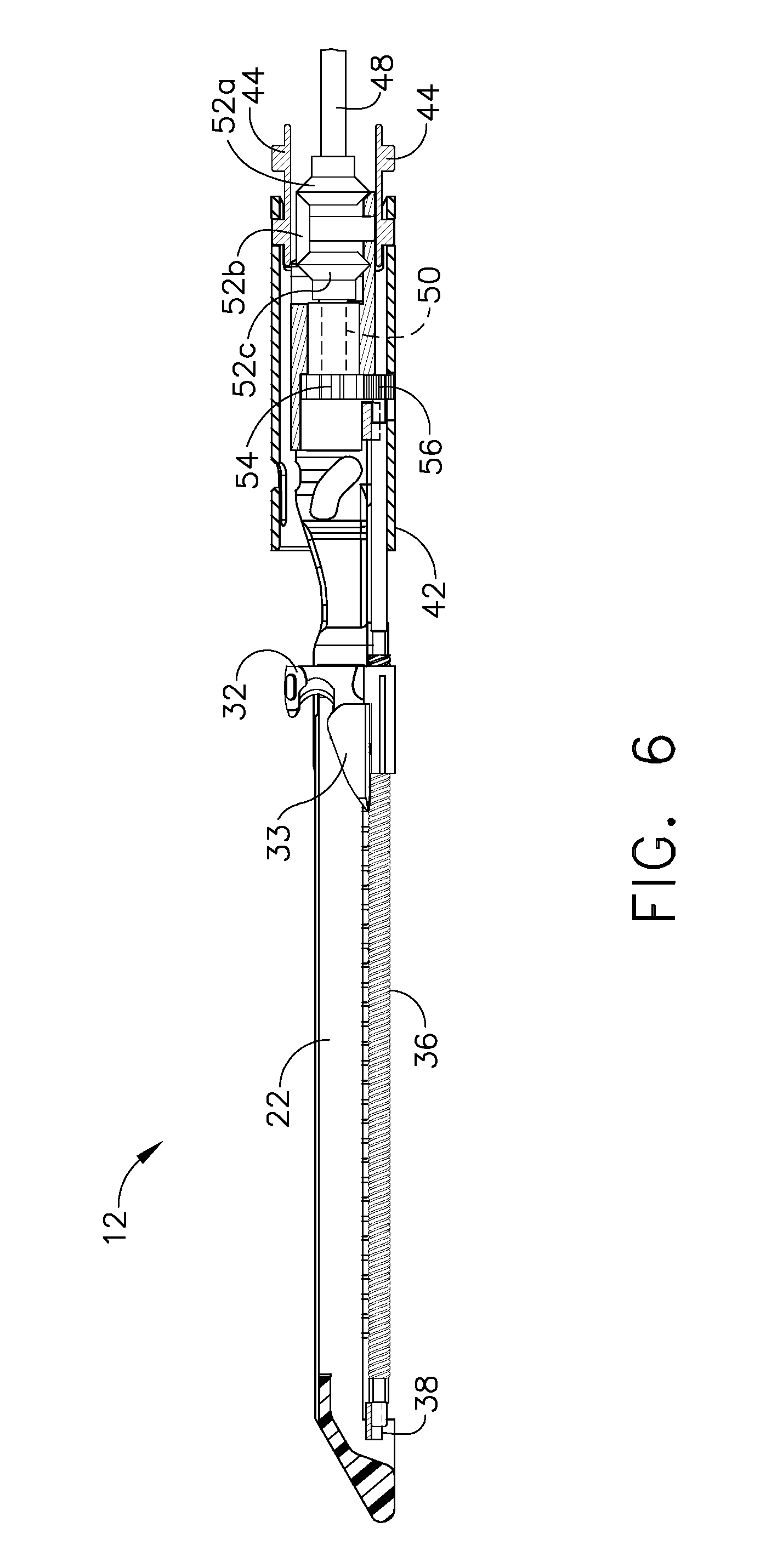 US8186555B2 - Motor-driven surgical cutting and fastening instrument