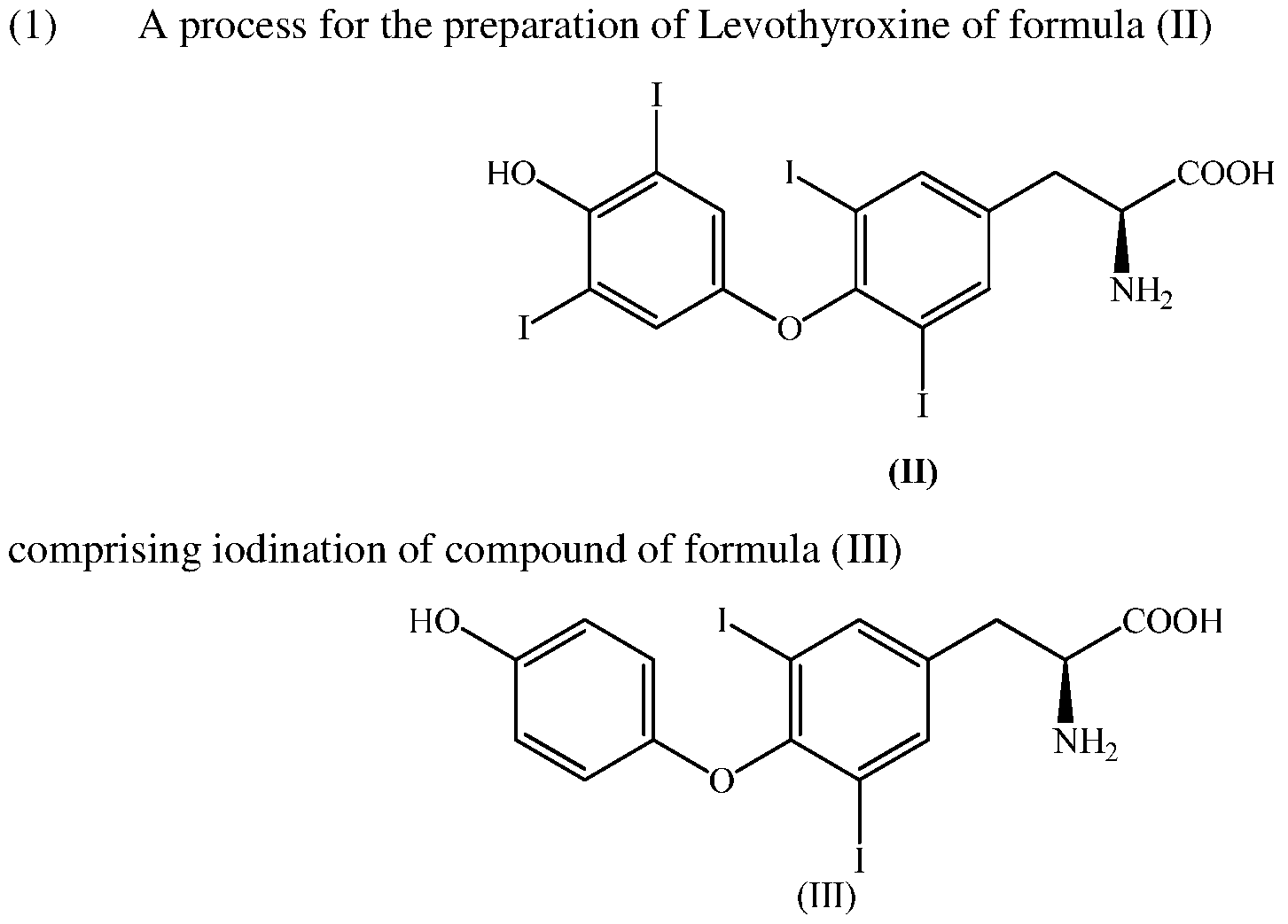 Wo2015151013a1 A Process For Preparation Of Levothyroxine And