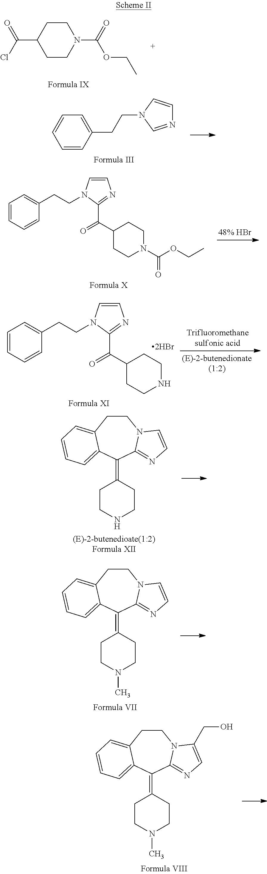 US20160083389A1 - Process of preparing alcaftadine - Google