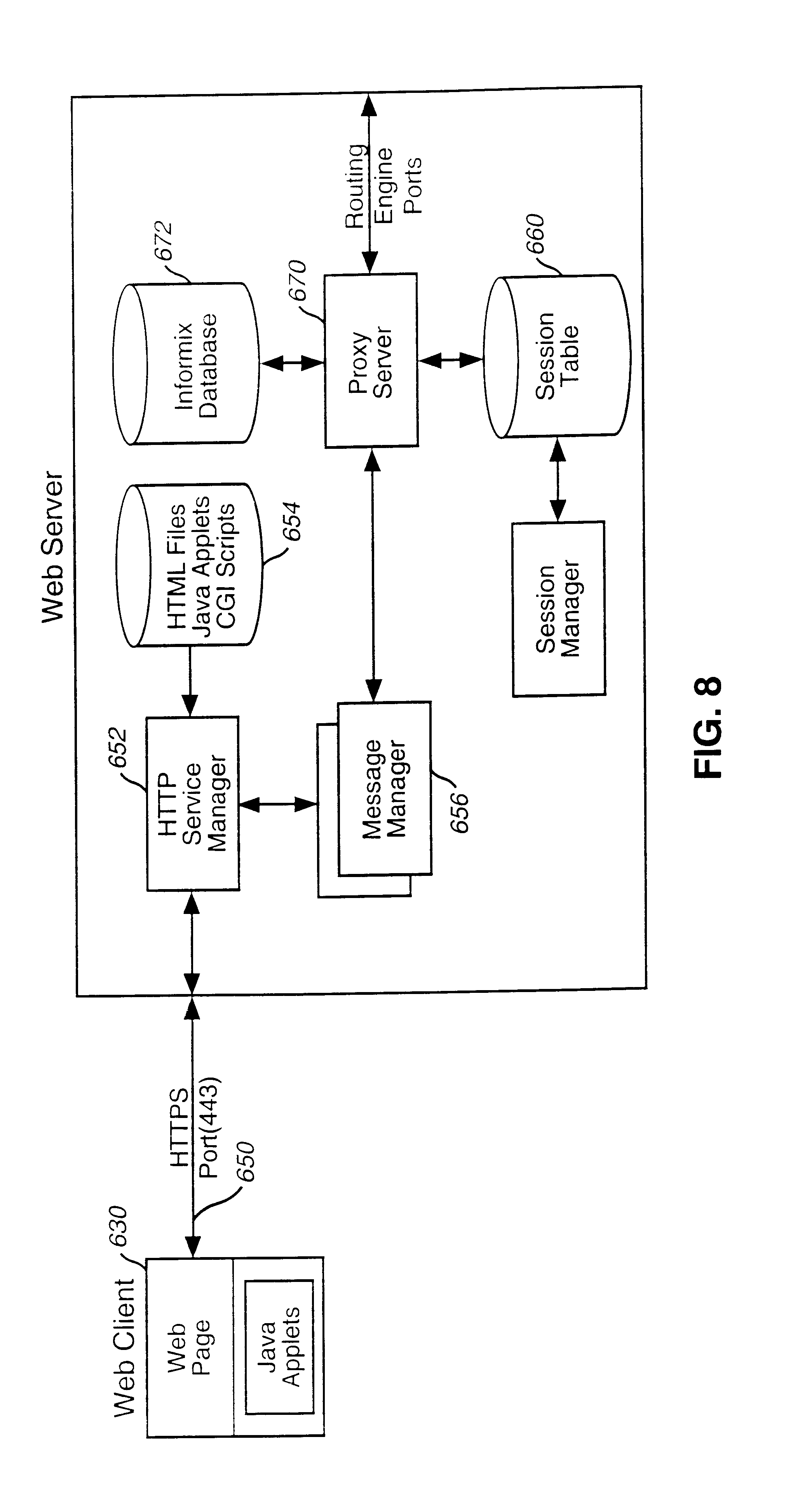 Us6611498b1 Integrated Customer Web Station For Based Call This Java Applet Is An Electronic Circuit Simulator A Great Way To Management Google Patents