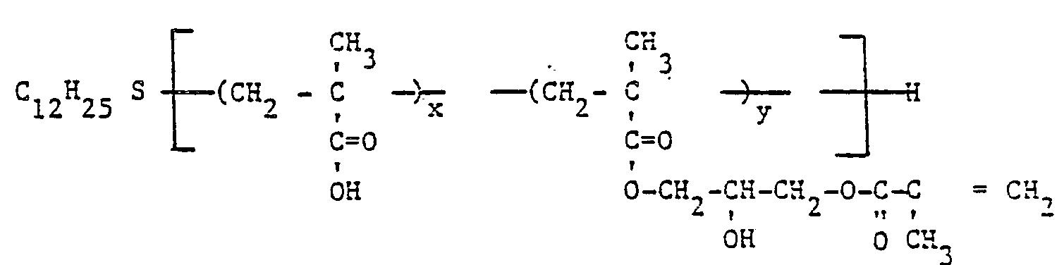 EP0138934B1 - Acrylic telomers with photocrosslinkable