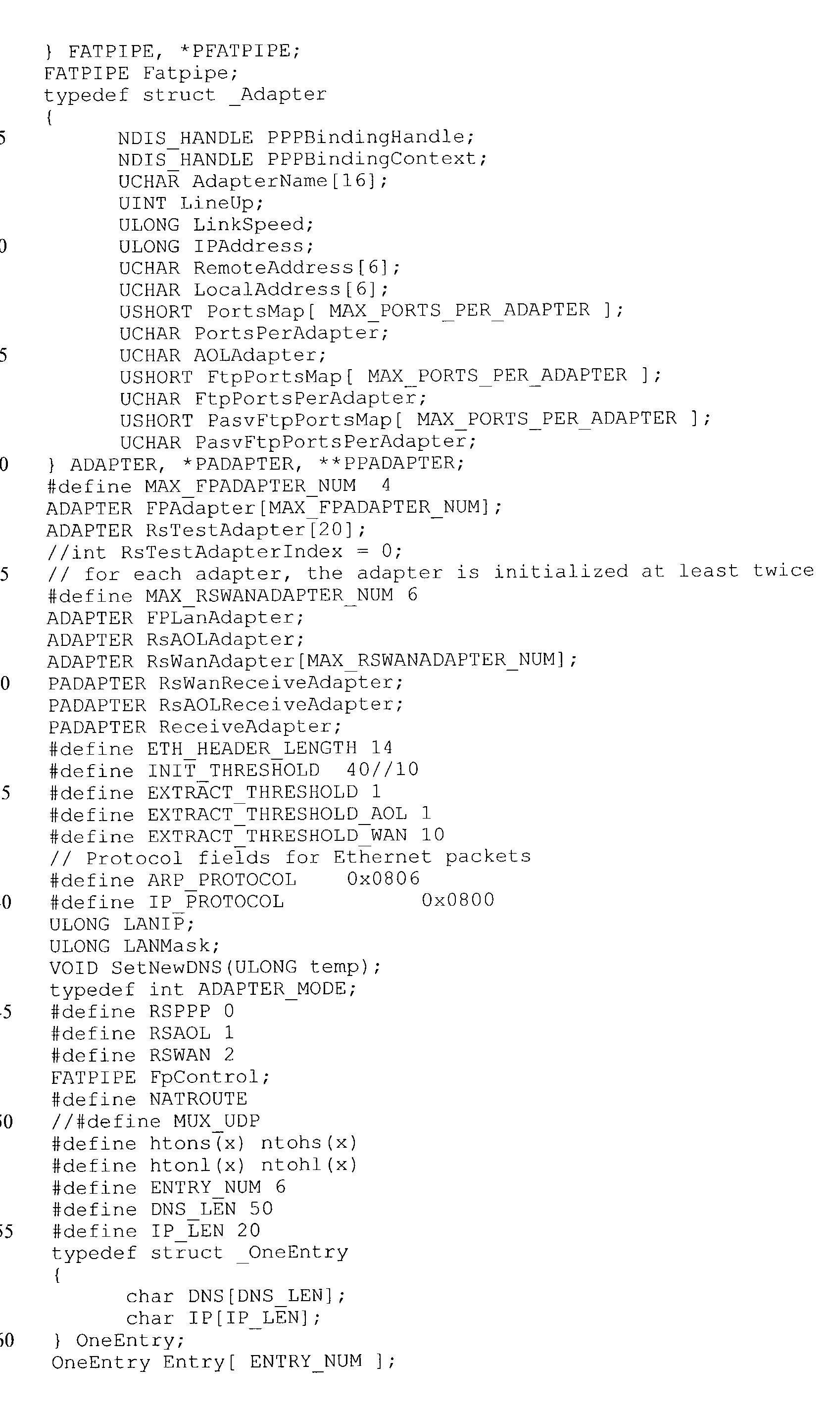 Figure US20030031180A1-20030213-P00005
