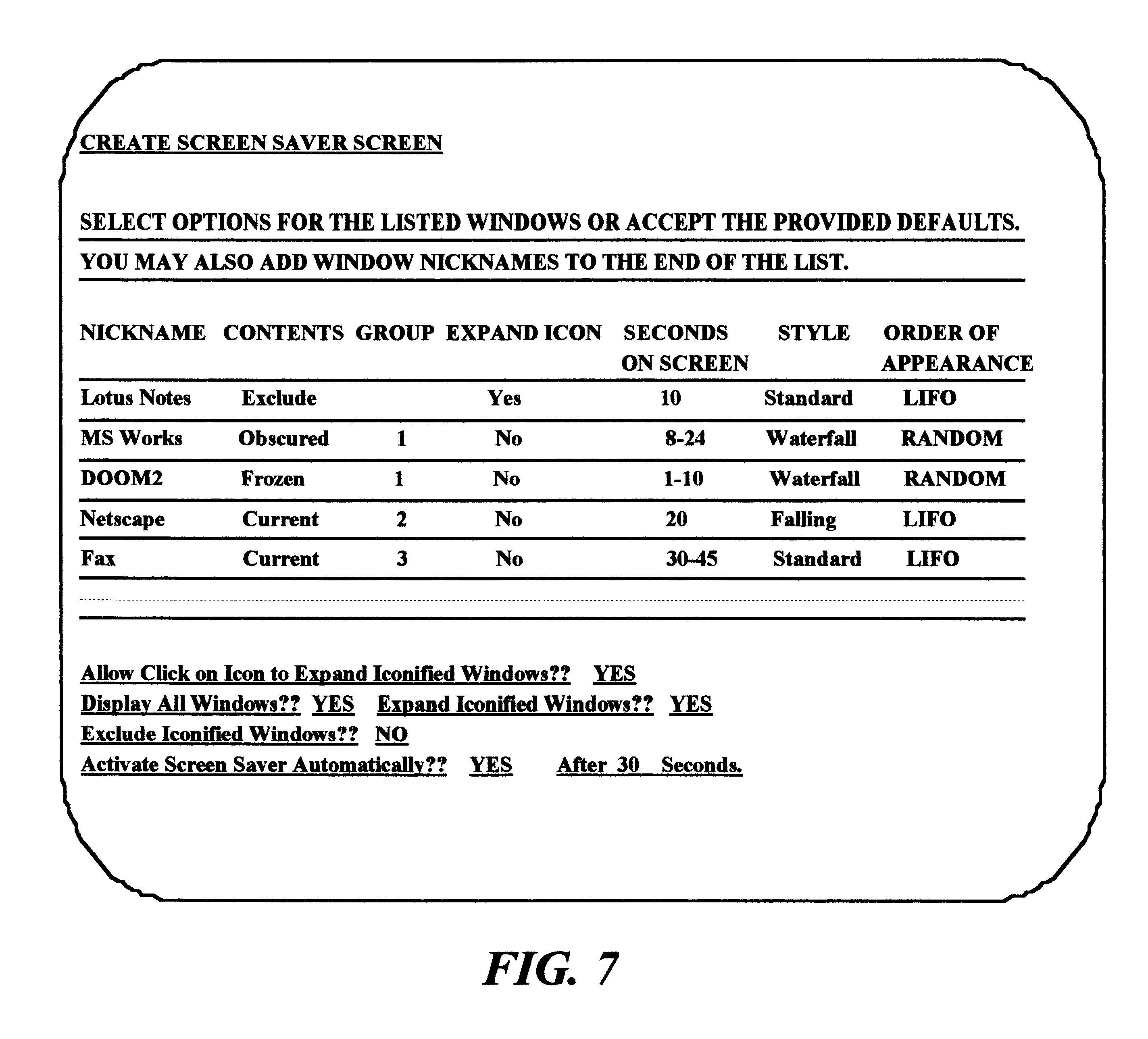 US6353449B1 - Communicating screen saver - Google Patents