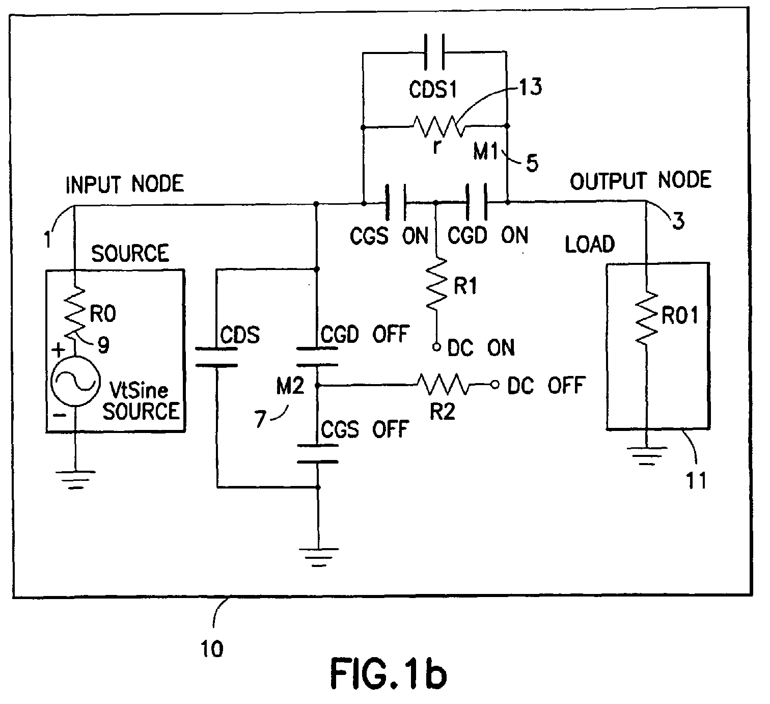 Ep2387094a1 Switch Circuit And Method Of Switching Radio Frequency Cmos Gate Circuitry Inverter Using Igfets Figure Imgaf002