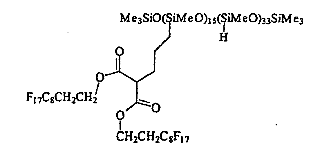 EP0755961B1 - Halogenated polyorganosiloxanes and processes for