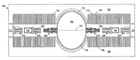 US20070242342A1 - Mems mirror with parallel springs and arched
