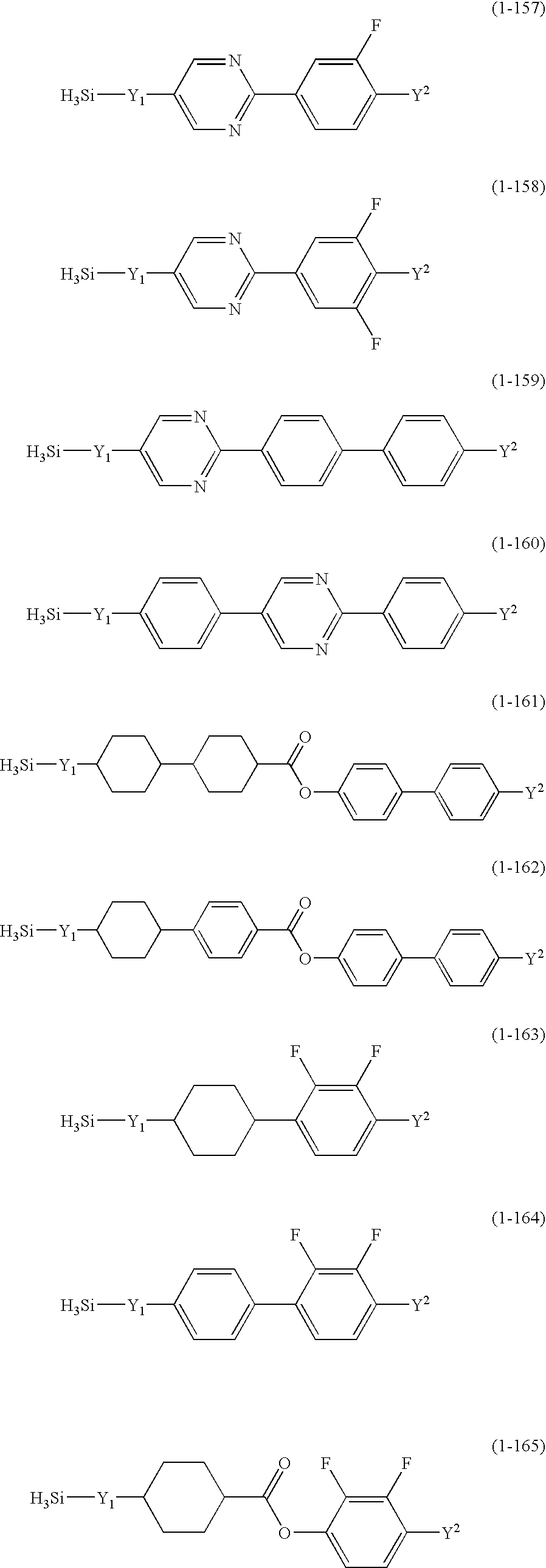 US6703083B2 - Silicon compound, liquid crystal composition and