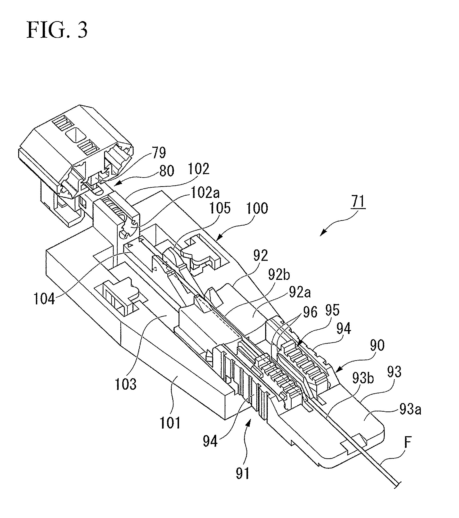 US8480314B2 - Connection method, connection tool, and connection jig