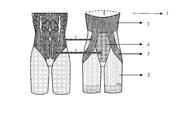 US20140057530A1 - Functional slimming shorts - Google Patents