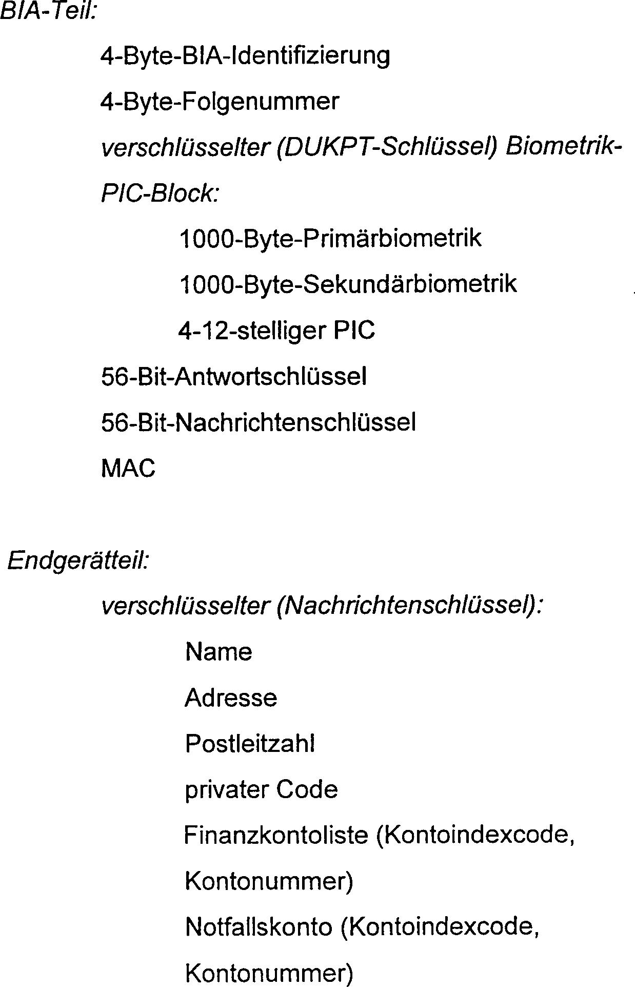 DE69630713T2 - Identification system without identity marker ...