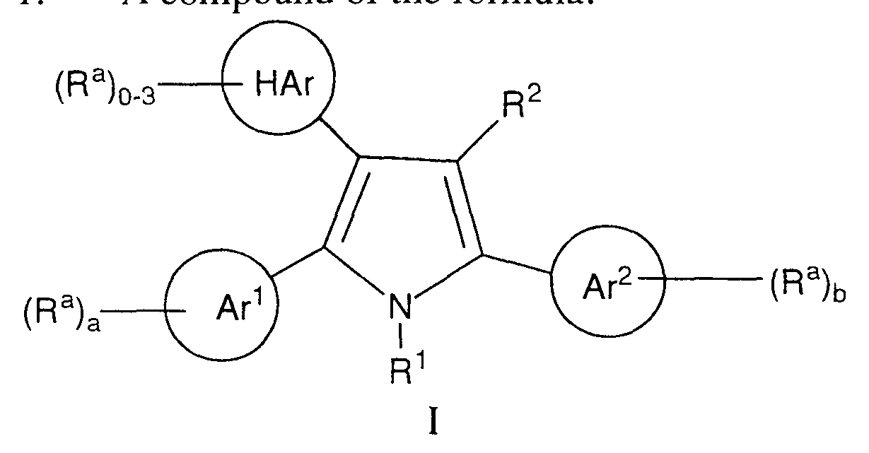 Wo1997005878a1 2 5 Substituted Aryl Pyrroles Compositions