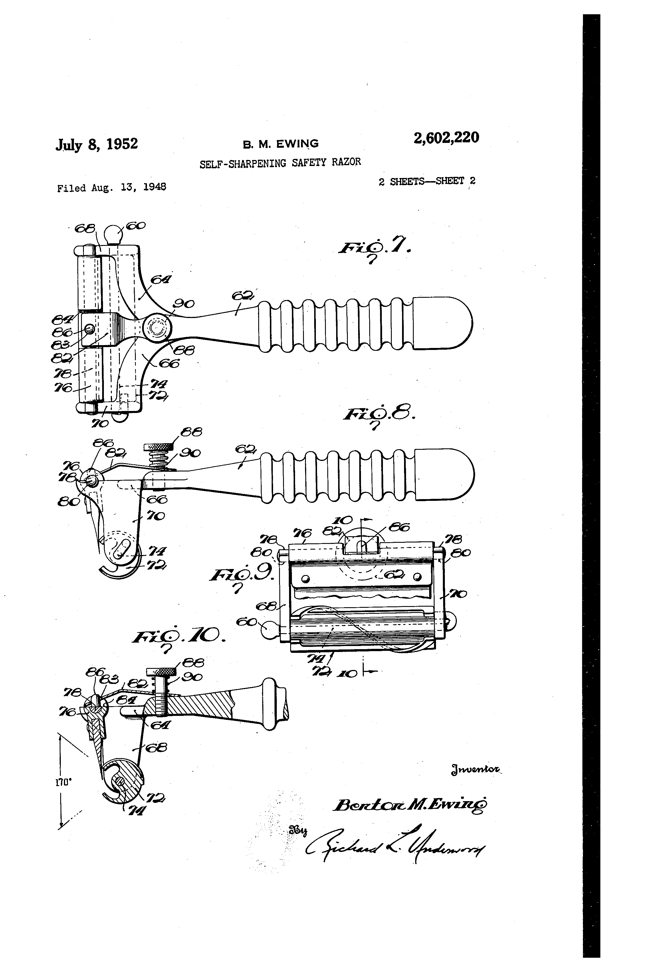 [Image: US2602220-drawings-page-2.png]