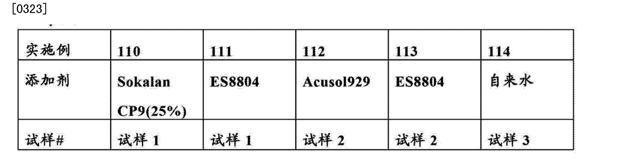 CN103328623B - Soil resistant floor cleaner - Google Patents