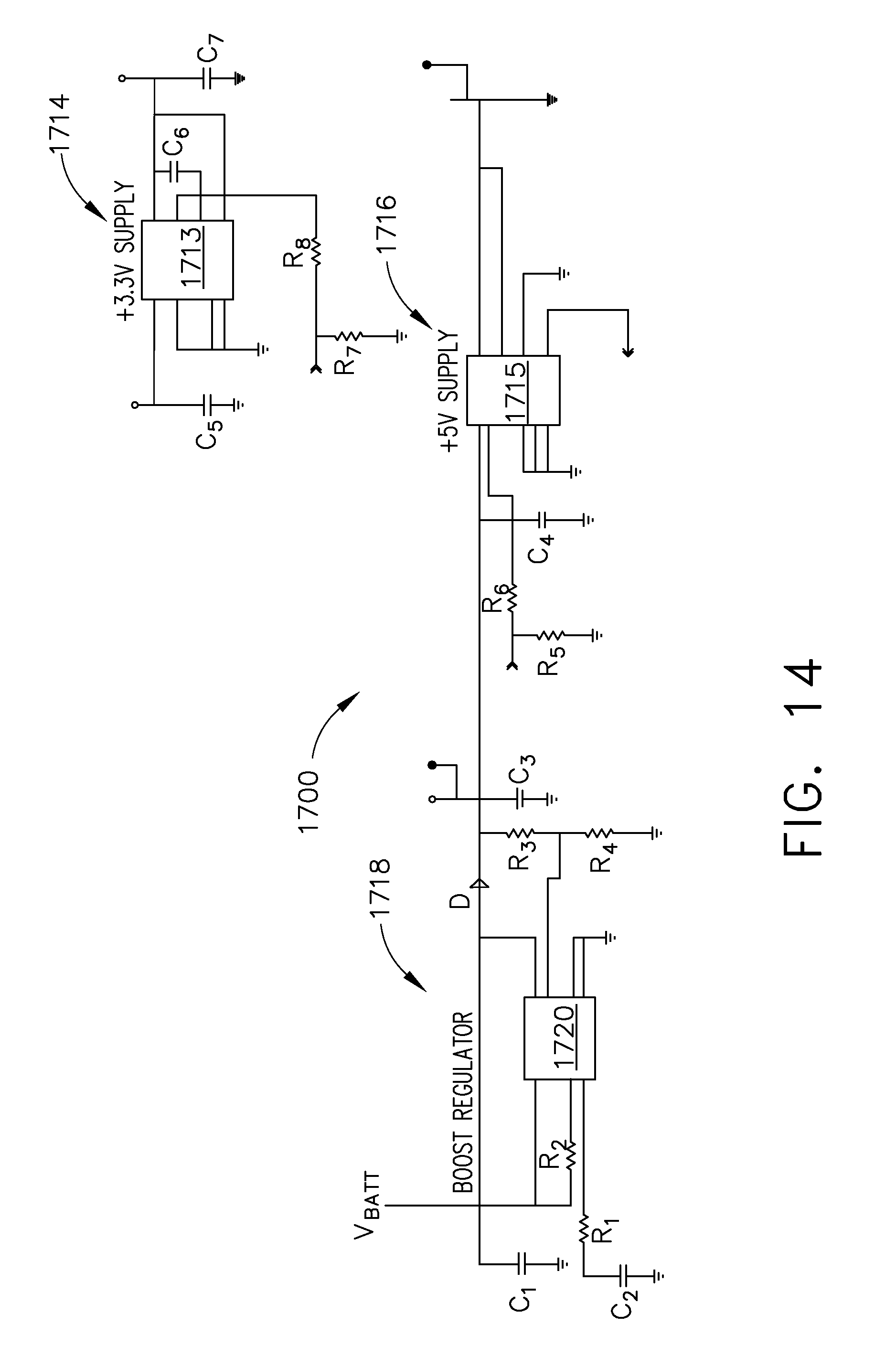 Us20150280424a1 Power Management Through Segmented Circuit And Usb 2036 46 Wiring Diagram Variable Voltage Protection Google Patents